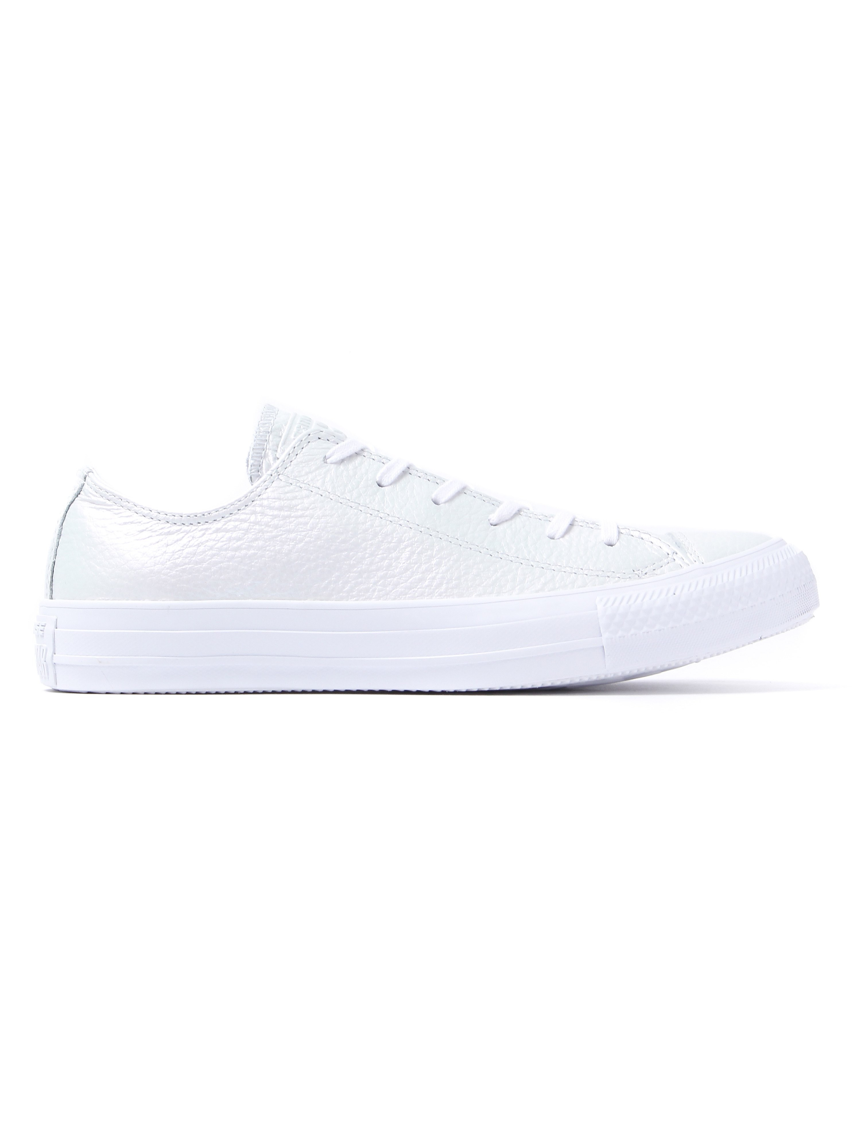 Converse Women's Chuck Taylor All Star OX Trainers - Pearled White