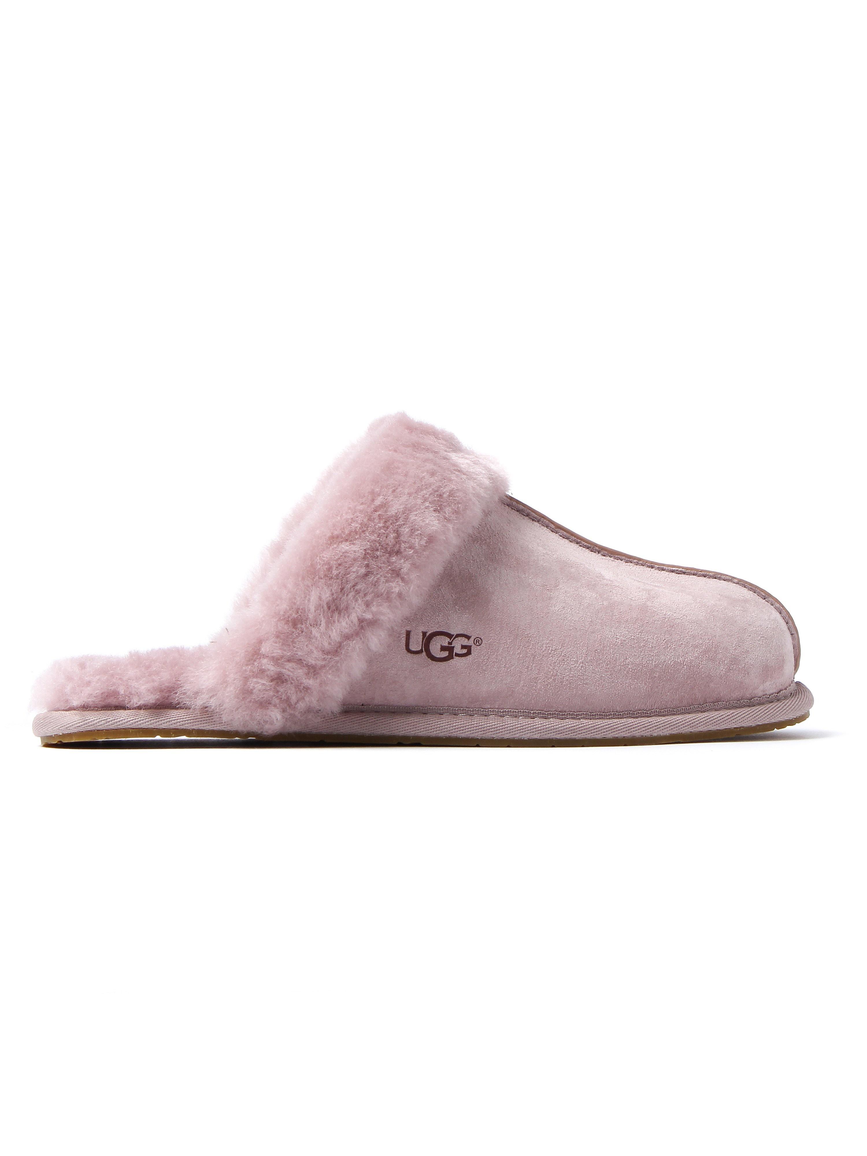 UGG Women's Scuffette II Suede Slippers - Dusk Pink