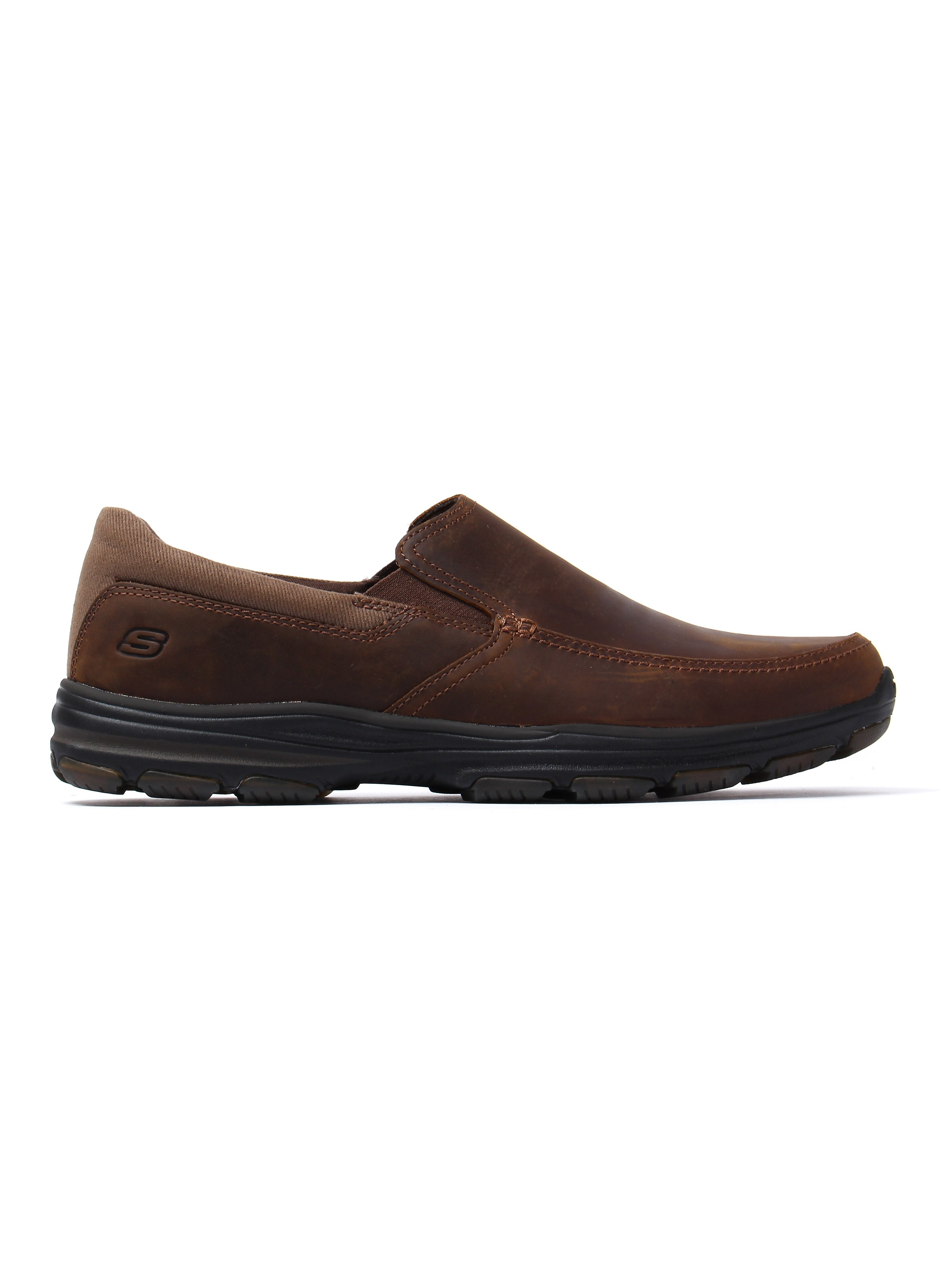 Skechers Men's Garton Venco Loafers - Dark Brown Leather