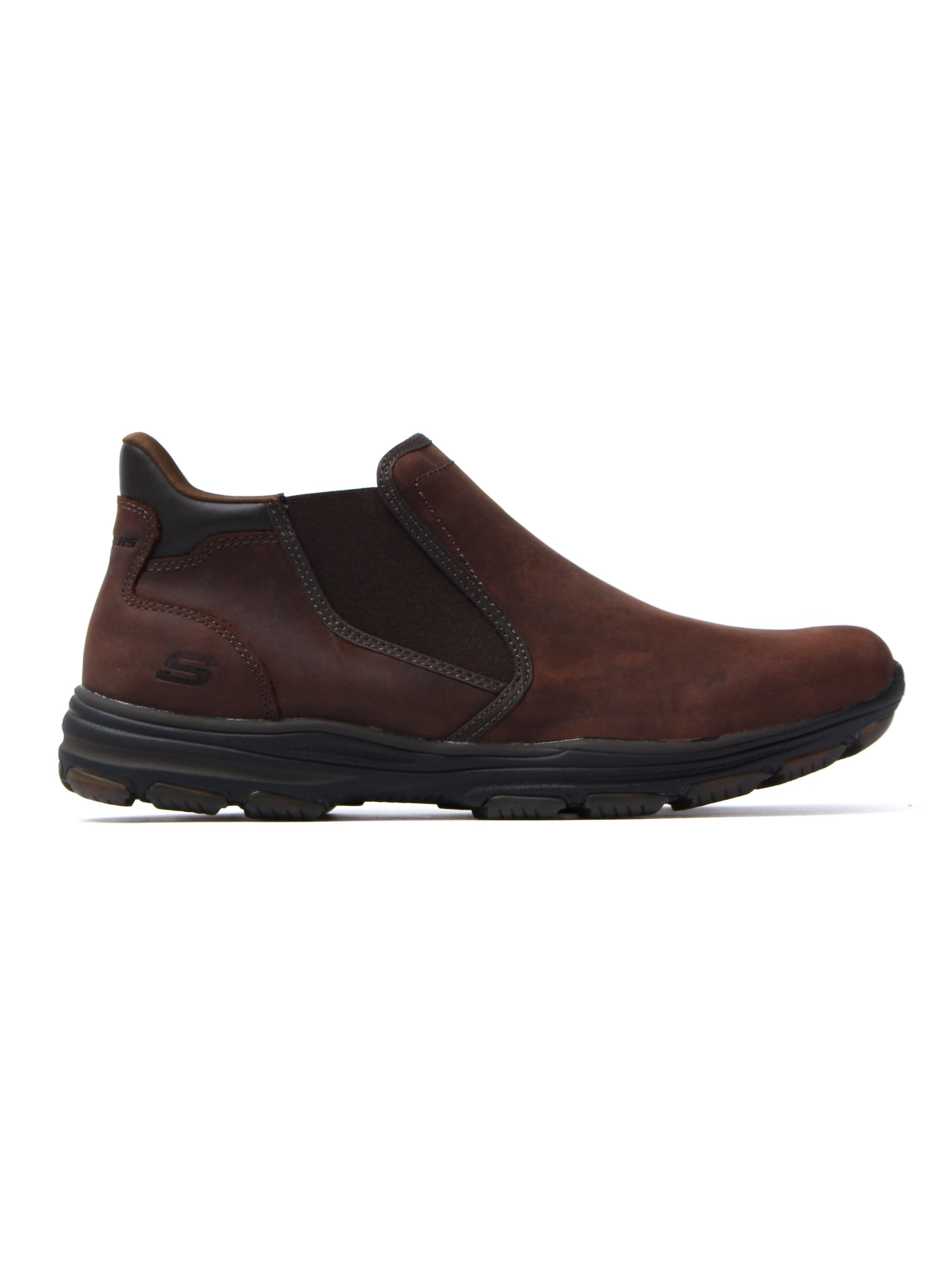 Skechers Men's Garton Keven Boots - Dark Brown