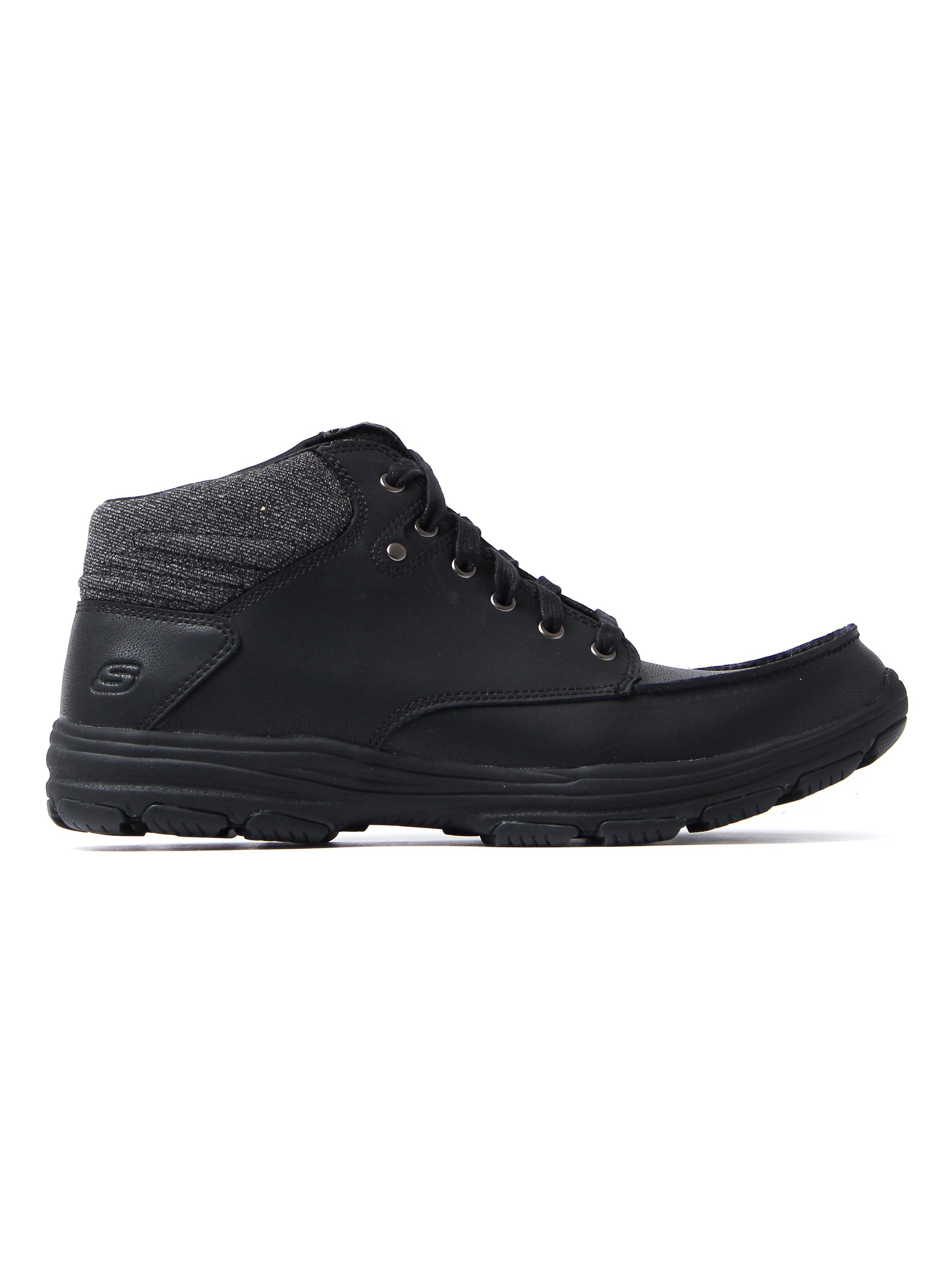 Skechers Men's Garton Meleno Chukka Boots - Black