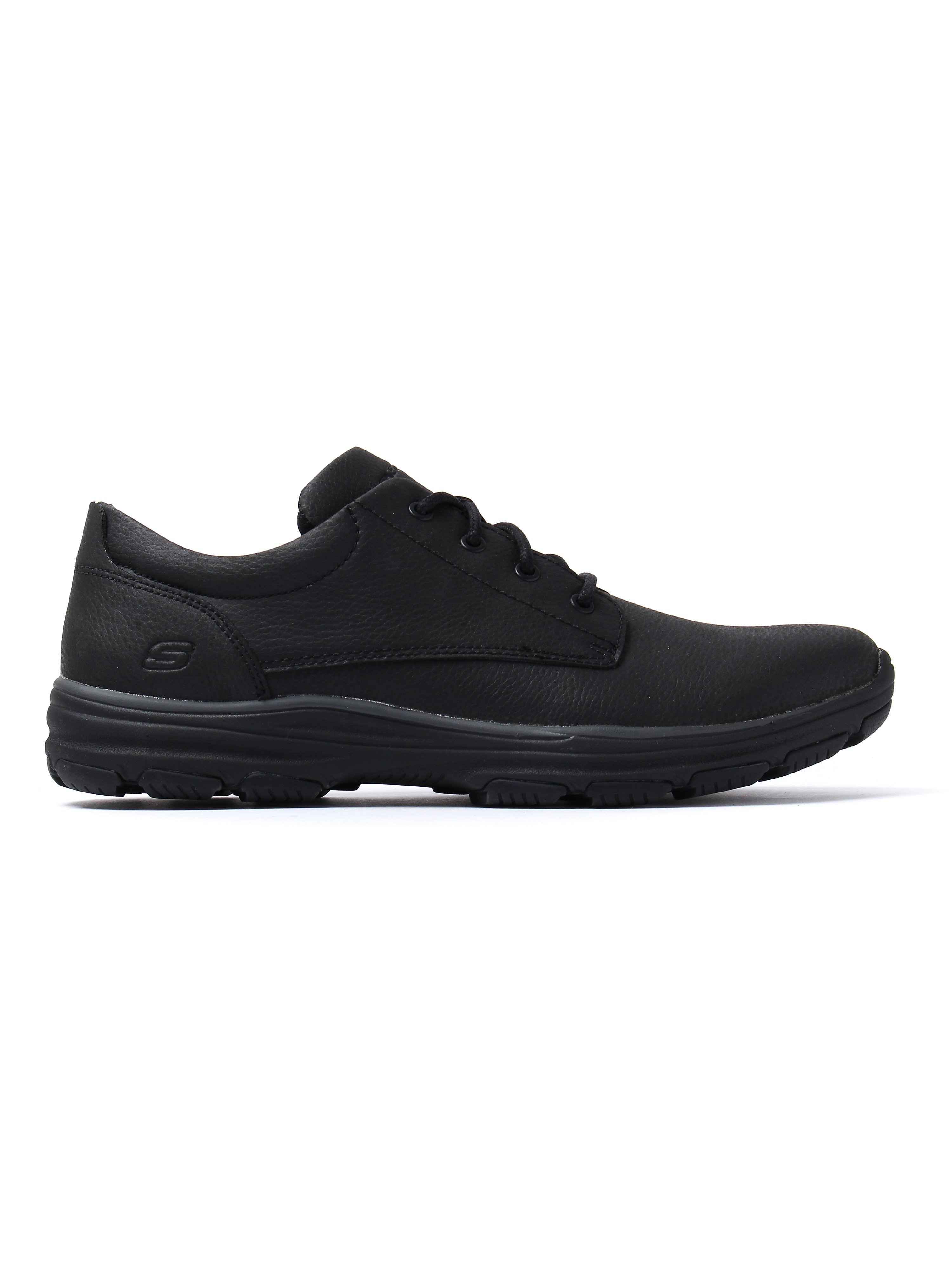 Skechers Men's Garton Modesto Shoes - Black Leather