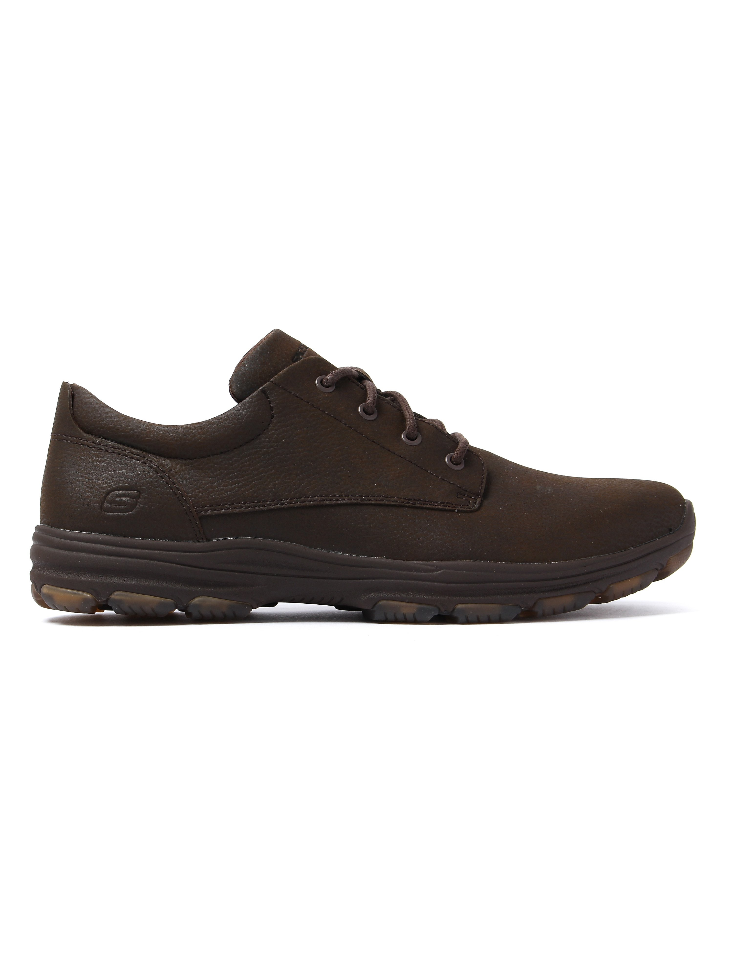 Skechers Men's Garton Modesto Shoes - Cocoa Leather