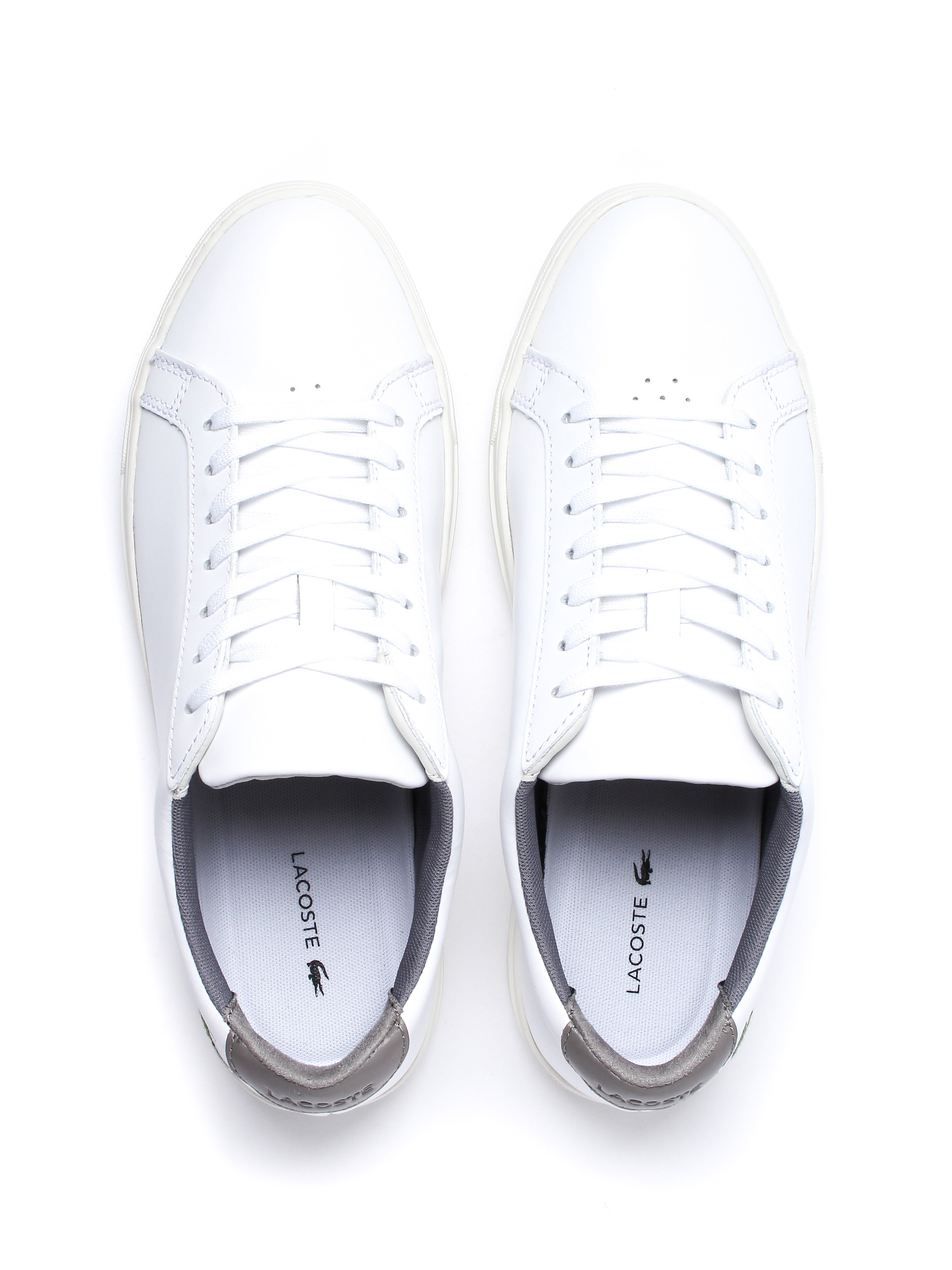 Lacoste Men's L.12.12 317 4 Trainers - White Leather