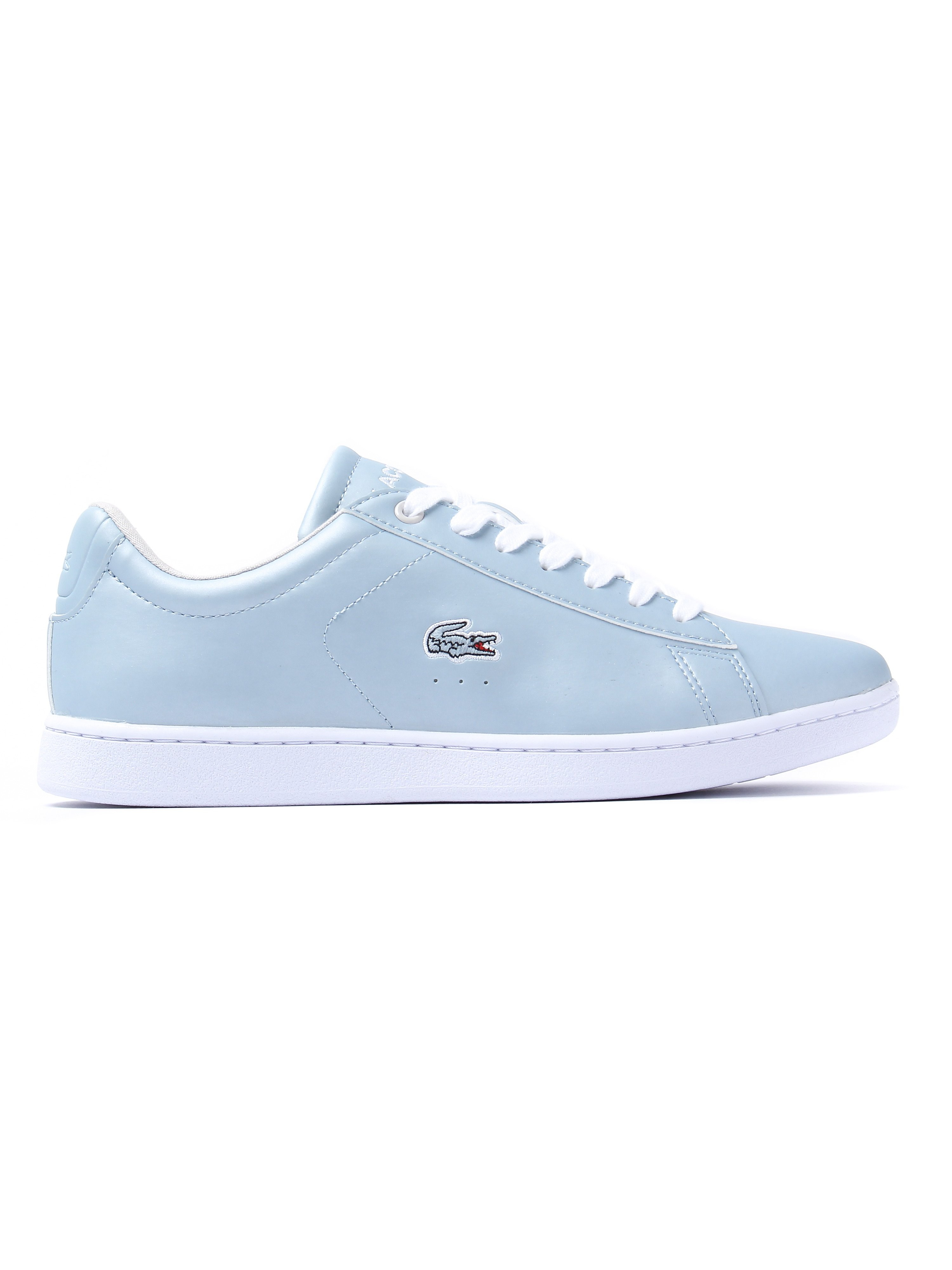 Lacoste Women's Carnaby EVO 317 4 Trainers - Light Blue