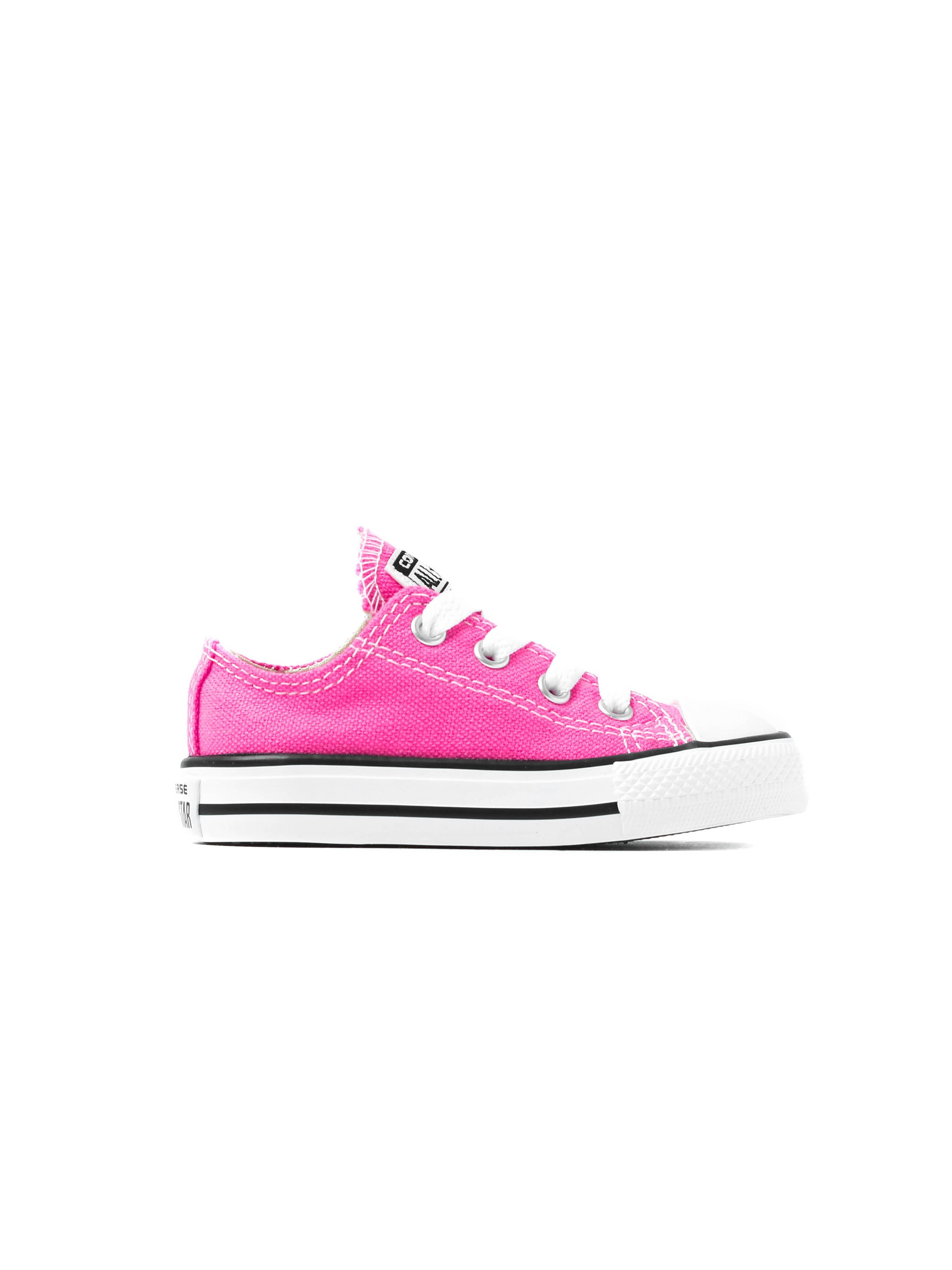 Converse Infants Chuck Taylor All Star OX Trainers - Pink Pow