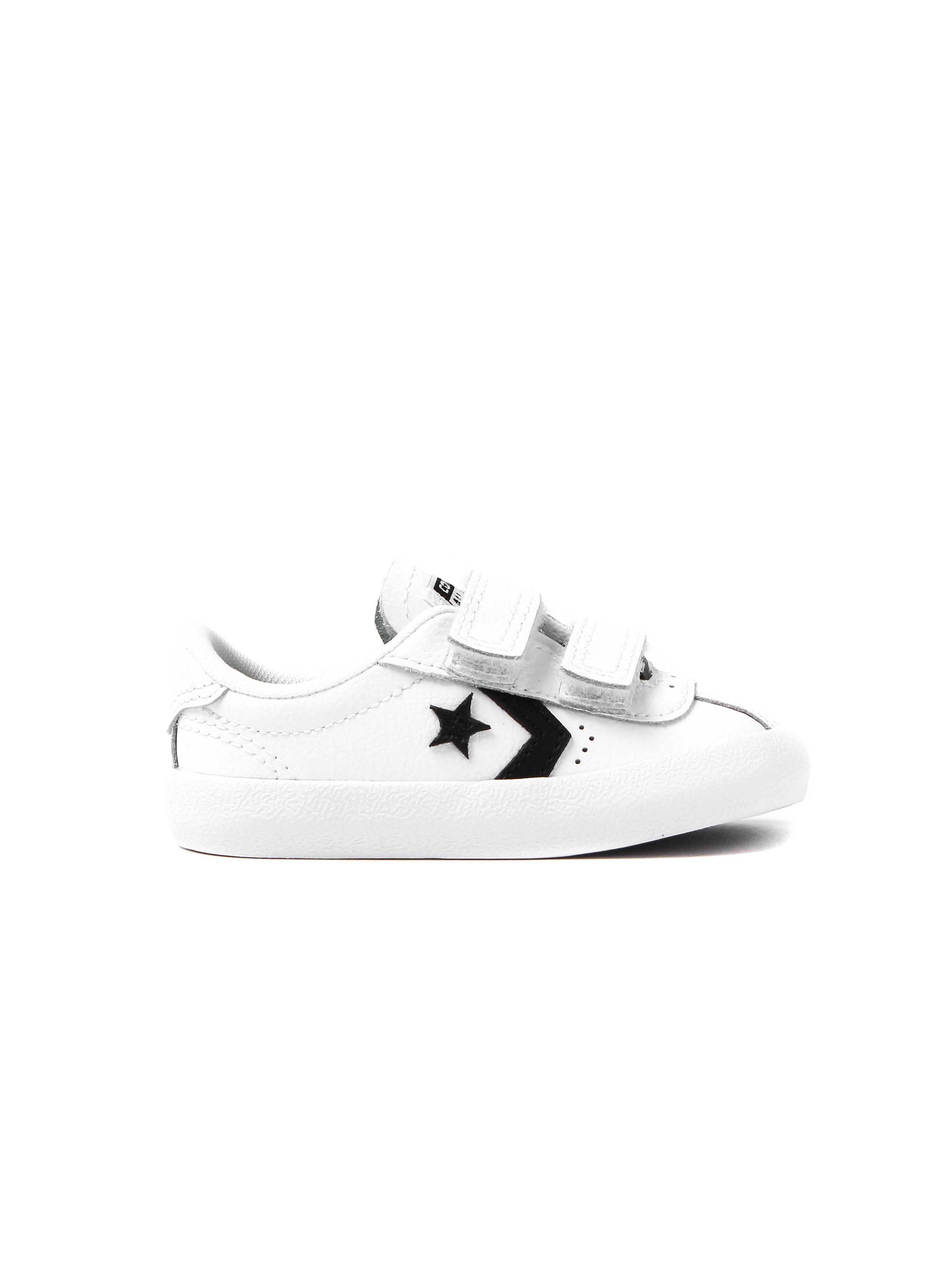 Converse Infants Breakpoint 2V Leather Trainers - White