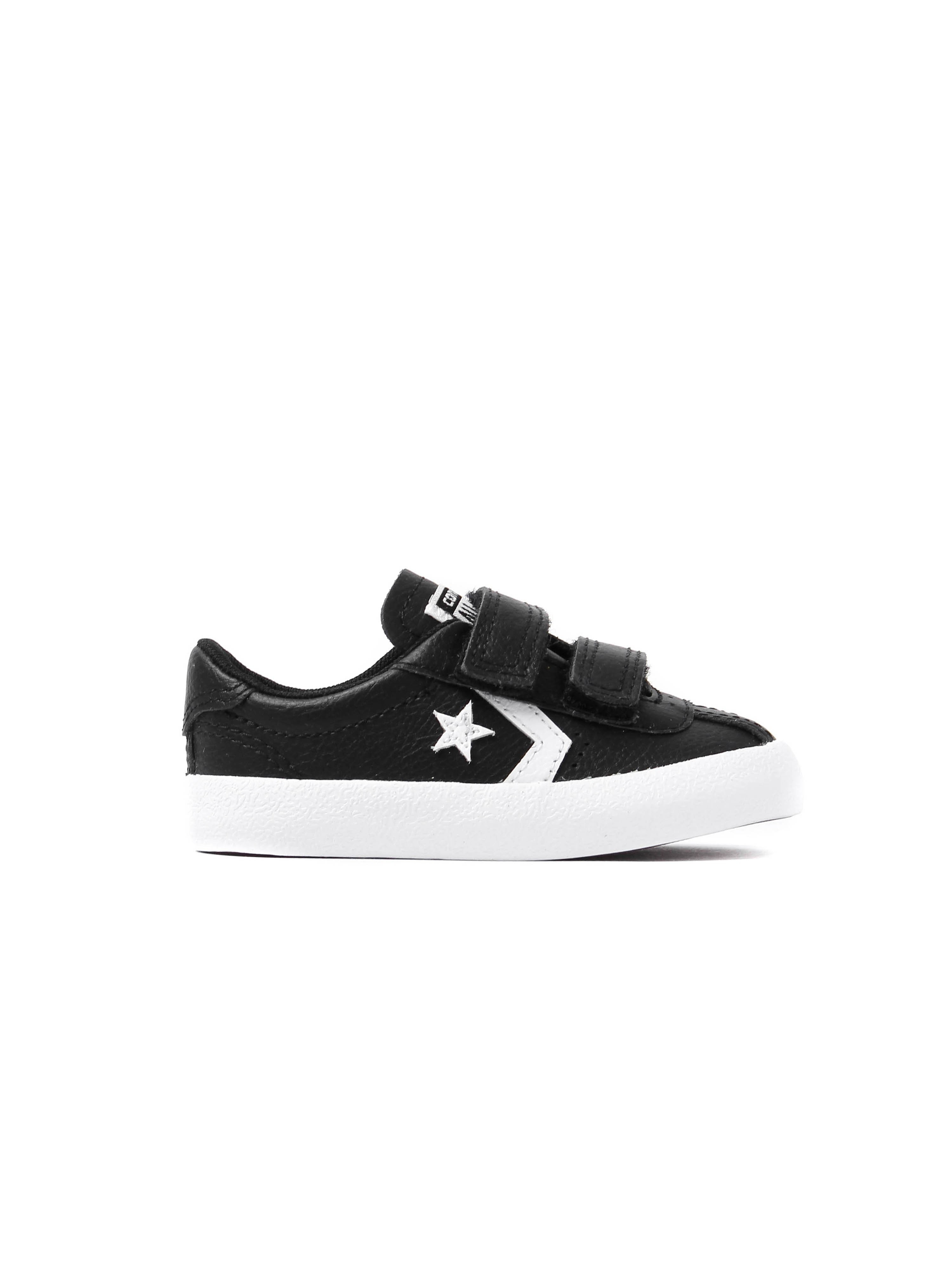 Converse Infants Breakpoint 2V Leather Trainers – Black