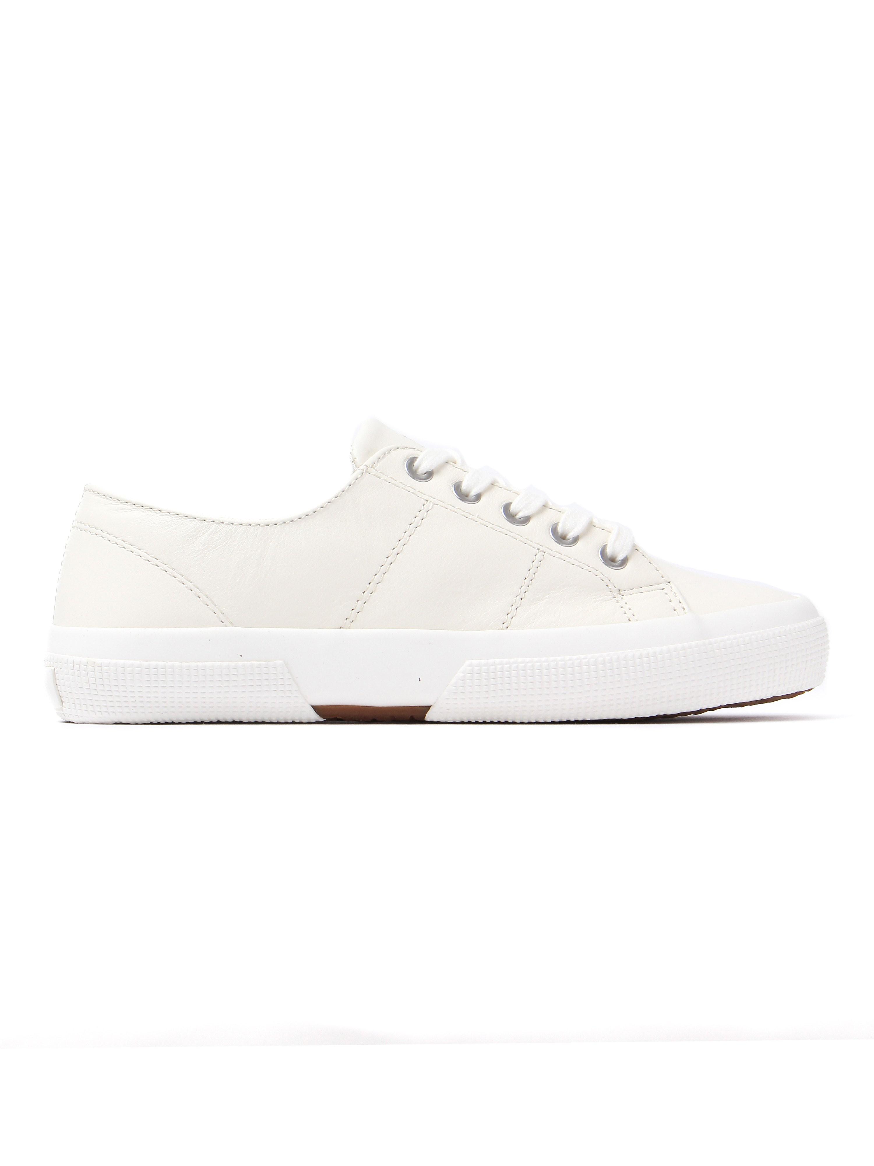 Lauren Ralph Lauren Women's Jolie Trainers - Cream Leather