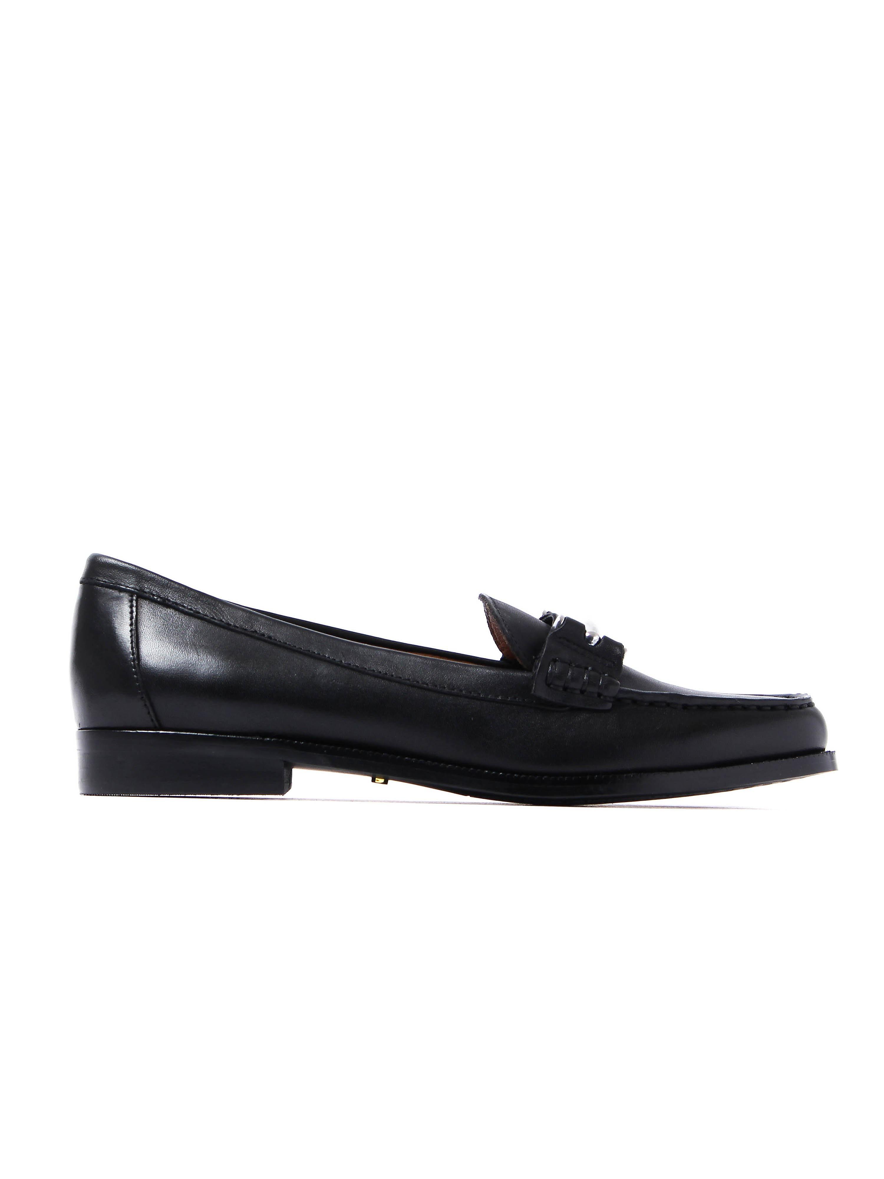 Lauren Ralph Lauren Women's Flynn Loafers - Black Leather
