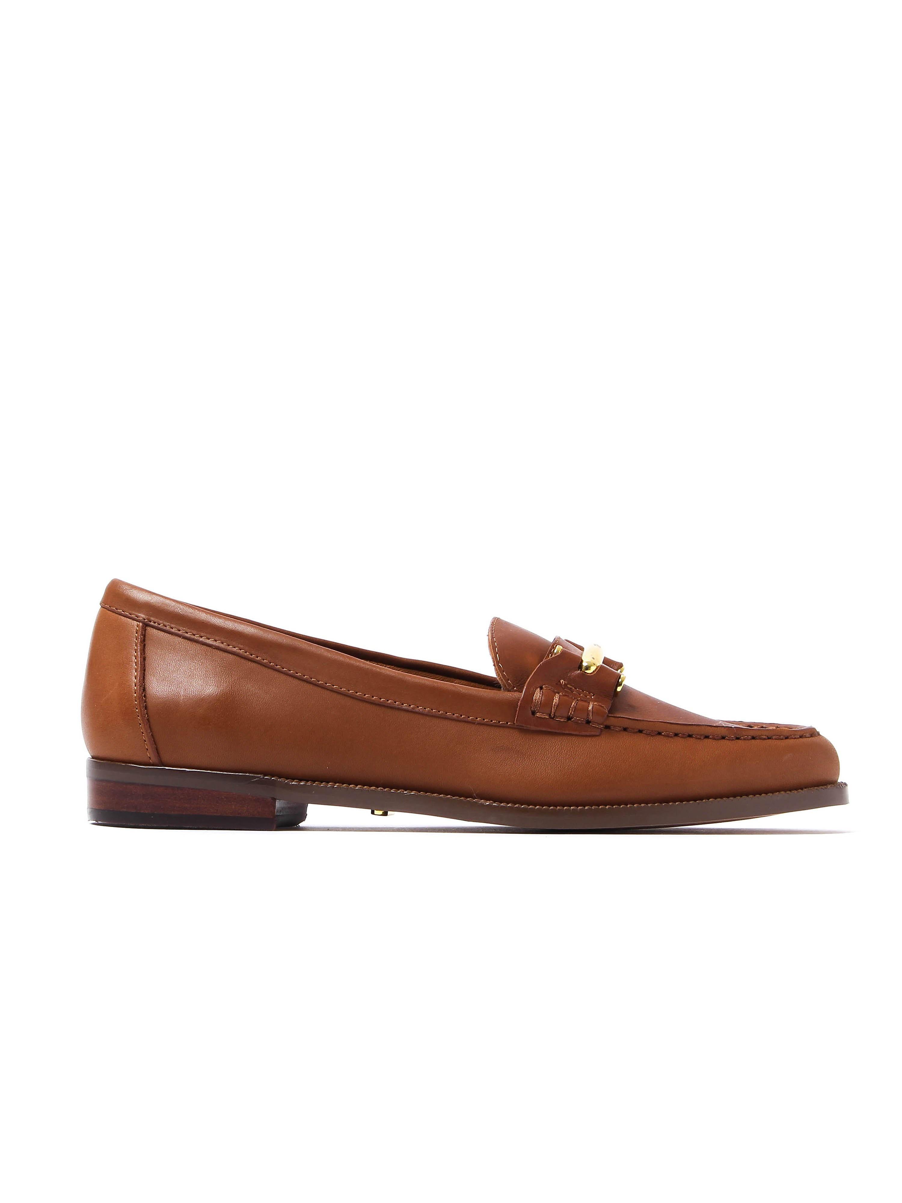 Lauren Ralph Lauren Women's Flynn Loafers - Tan Saddle Leather