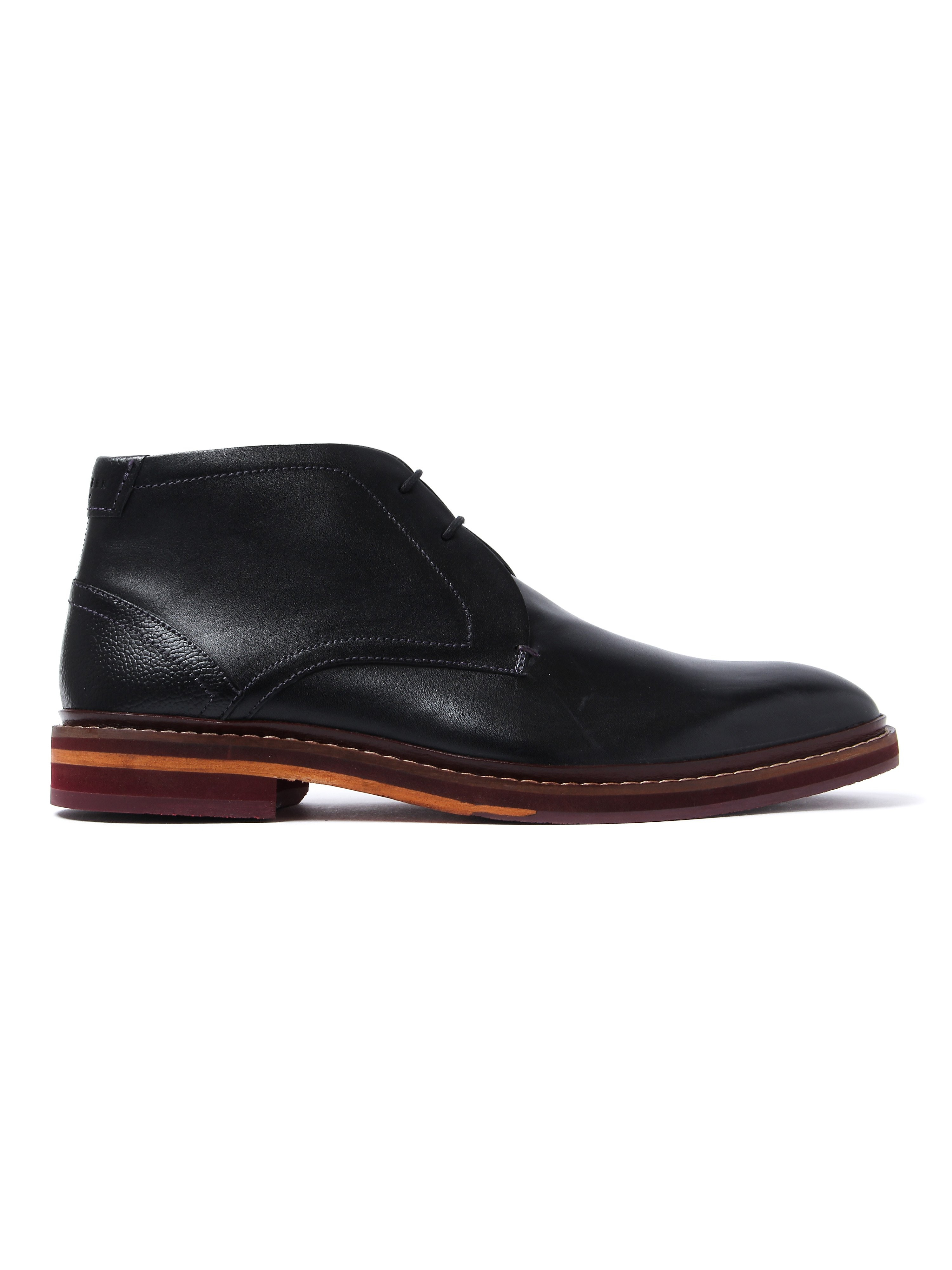 Ted Baker Men's Azzlan Boots - Black Leather