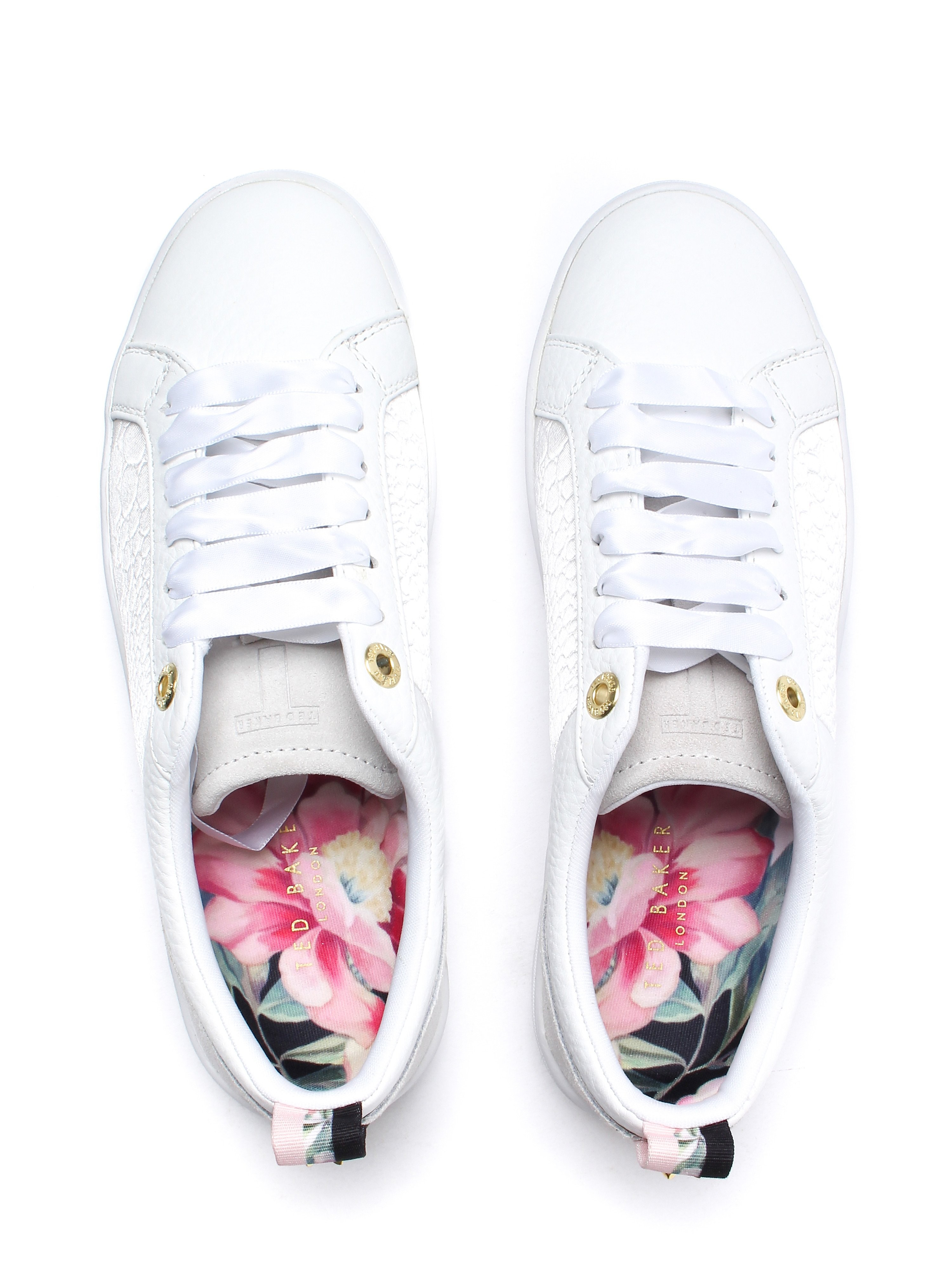Ted Baker Women's Kulei Trainers - White Leather