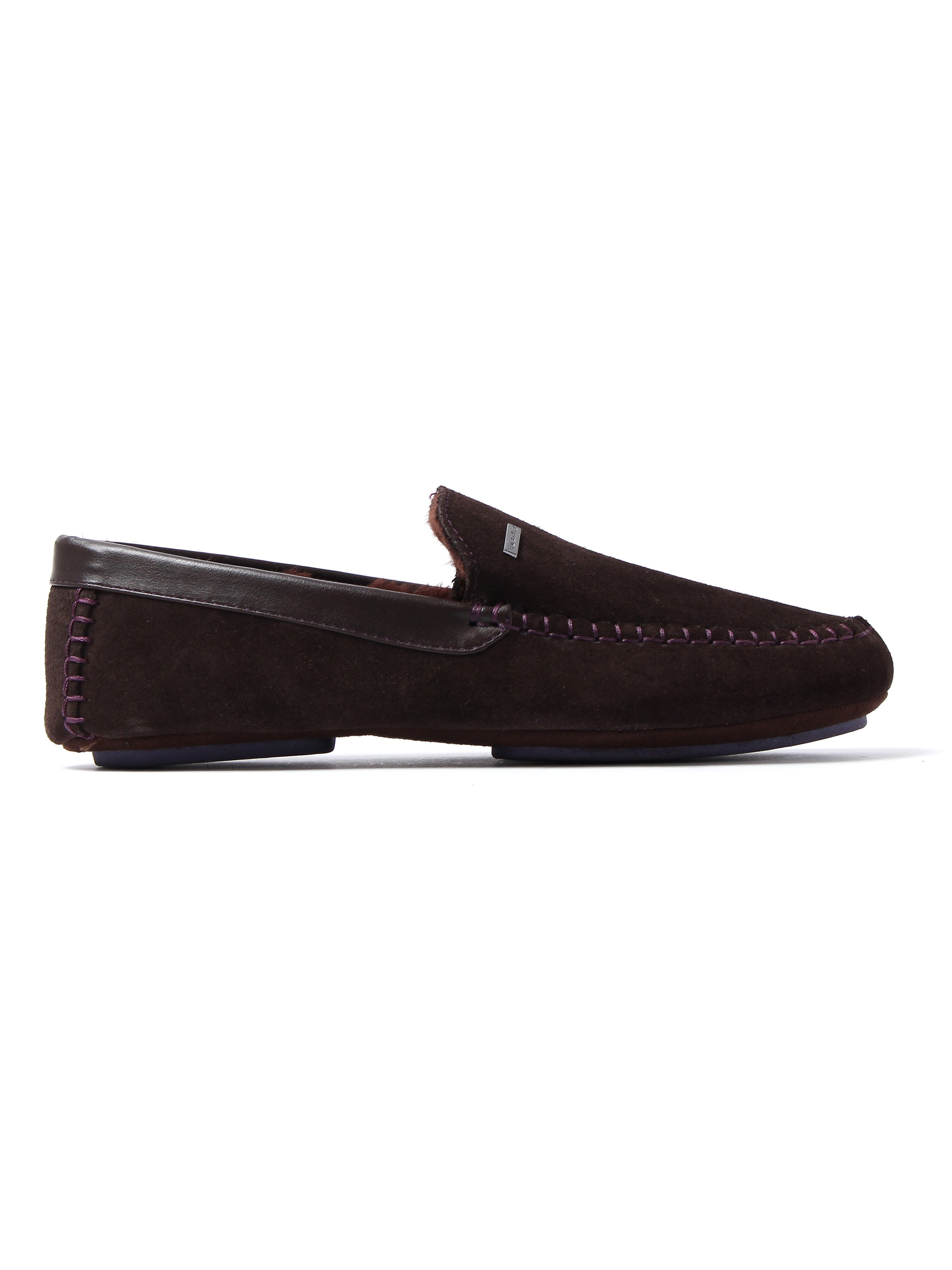 Ted Baker Men's Moriss 2 Slippers - Brown Suede