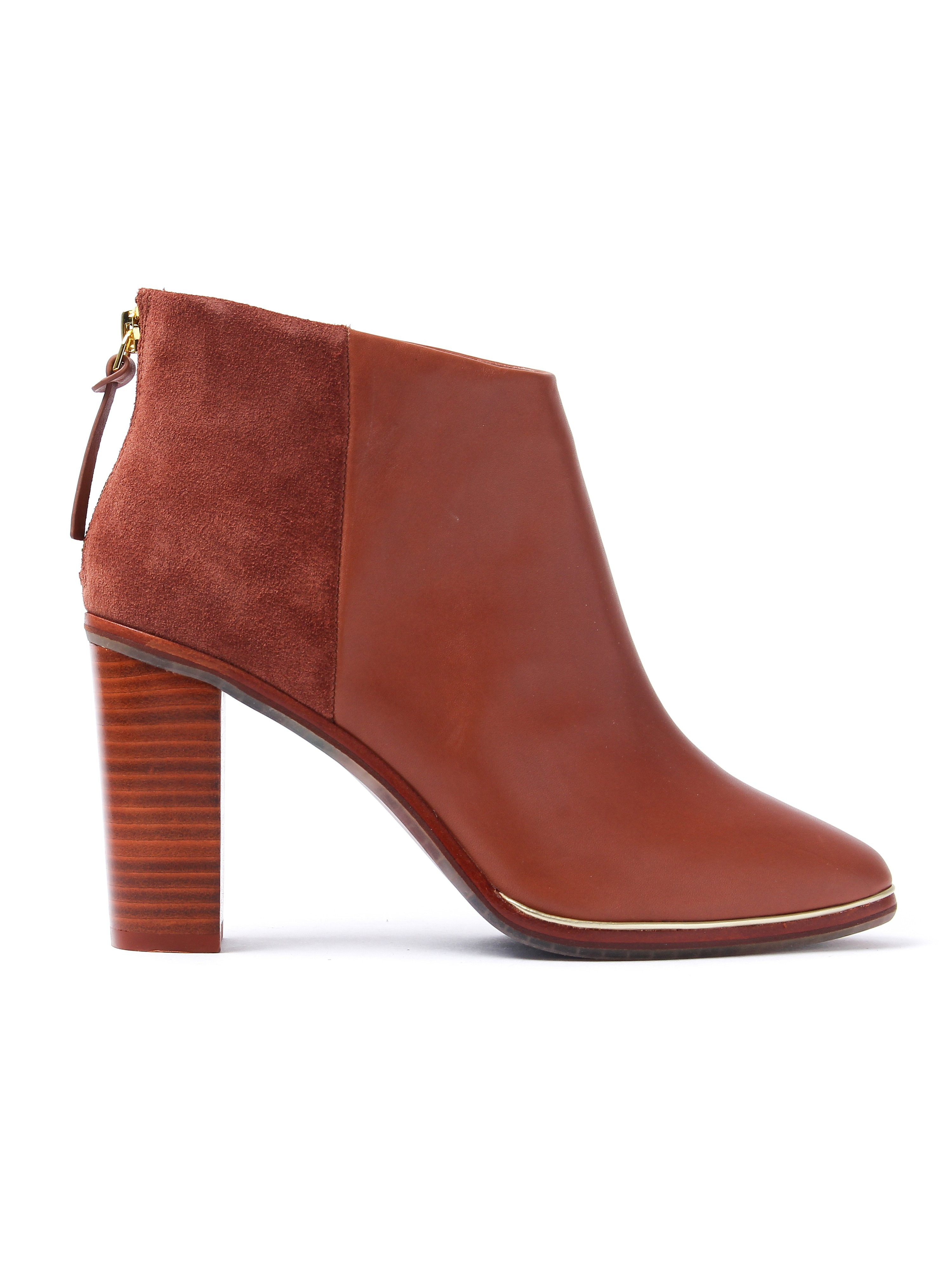 Ted Baker Women's Azalia Boots - Tan Leather Suede
