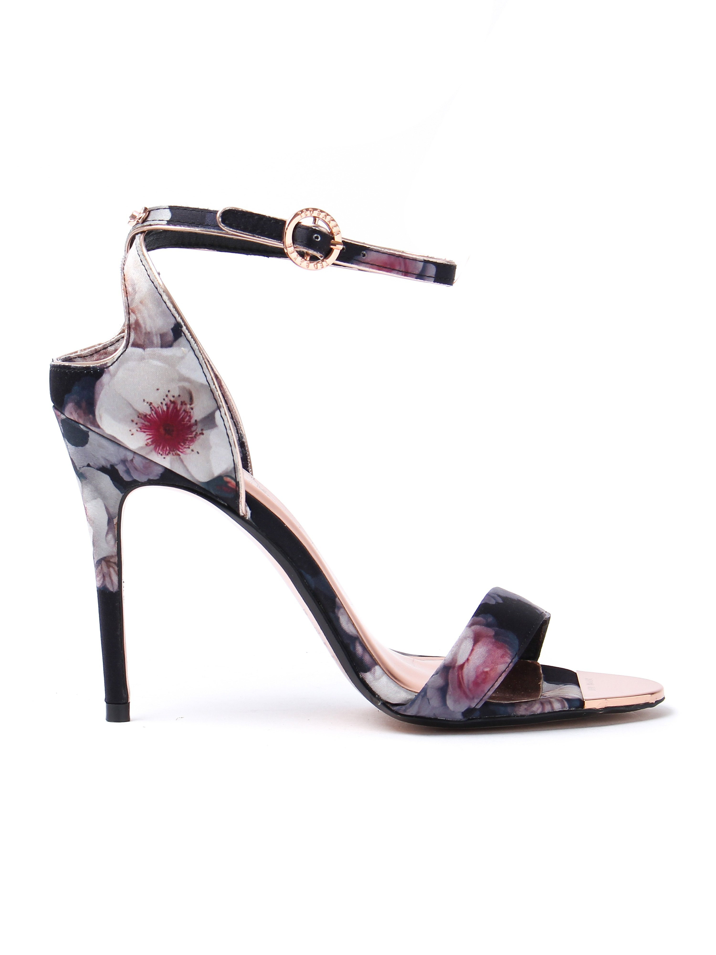 Ted Baker Women's Microbep Floral Sandals - Black Chelsea