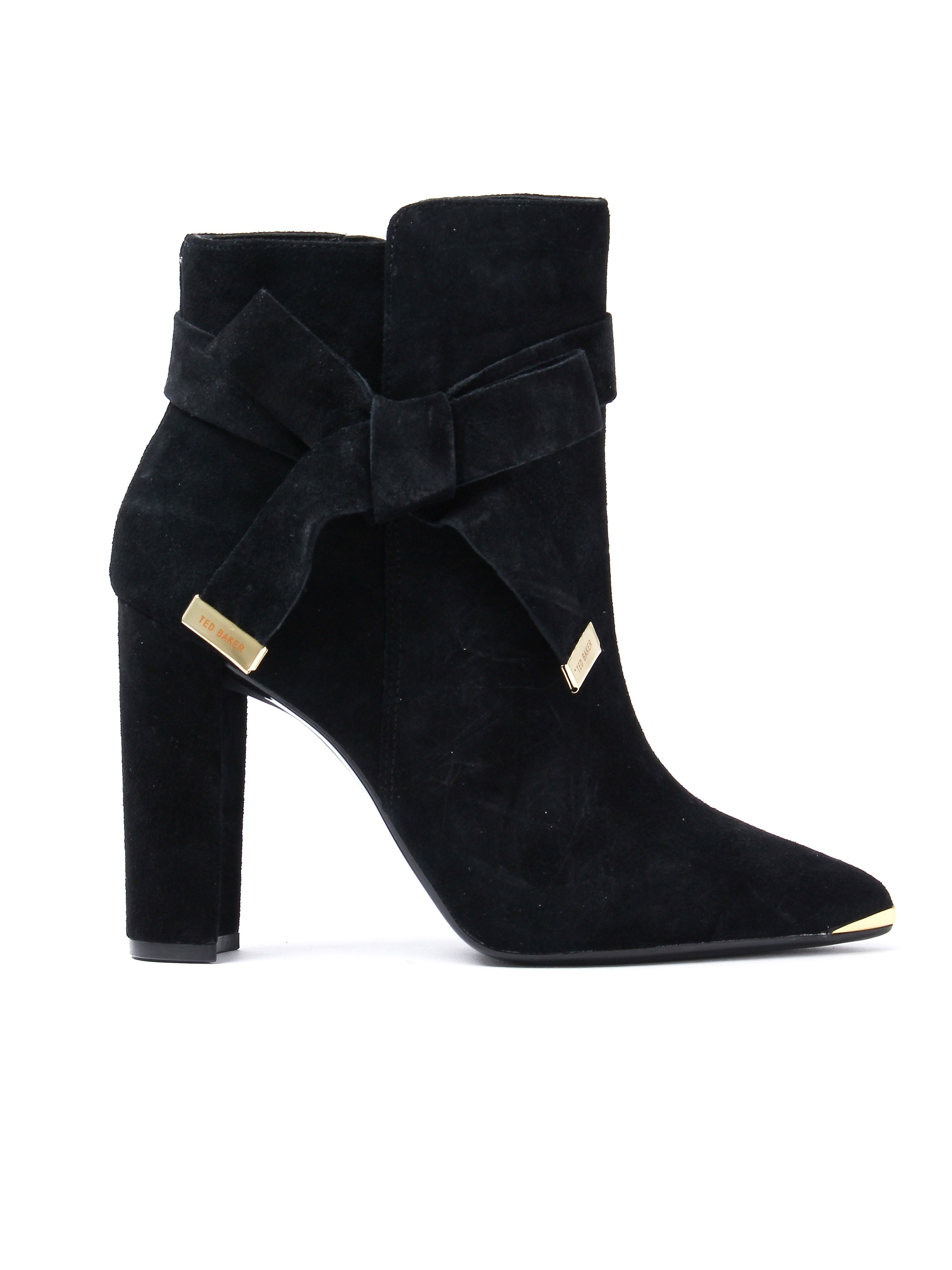Ted Baker Women's Sailly Ankle Boots - Black Suede