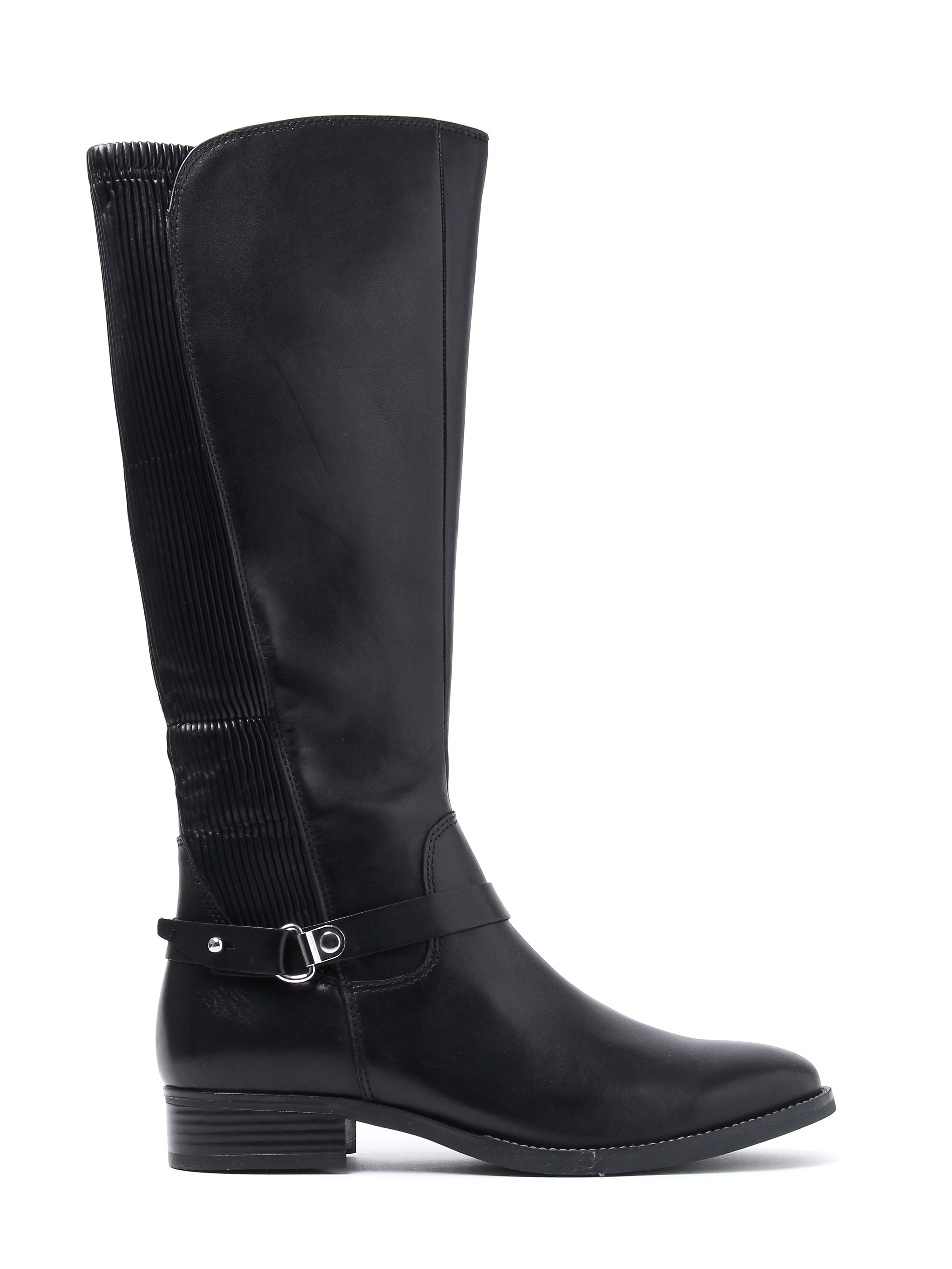 Caprice Women's Nappa Tall Boots - Black Leather