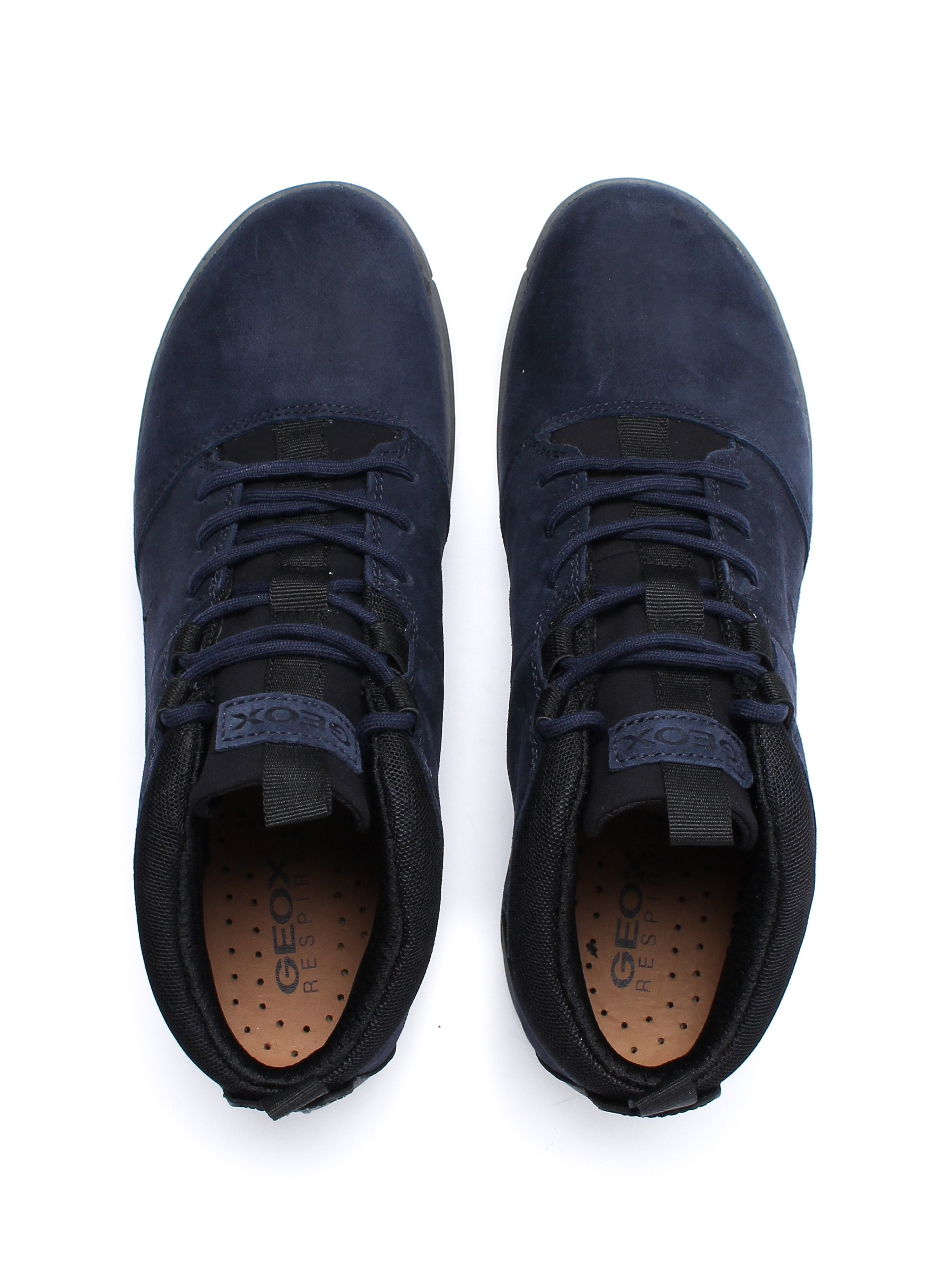 Geox Men's Nebula 4x4 Trainers - Navy Nubuck