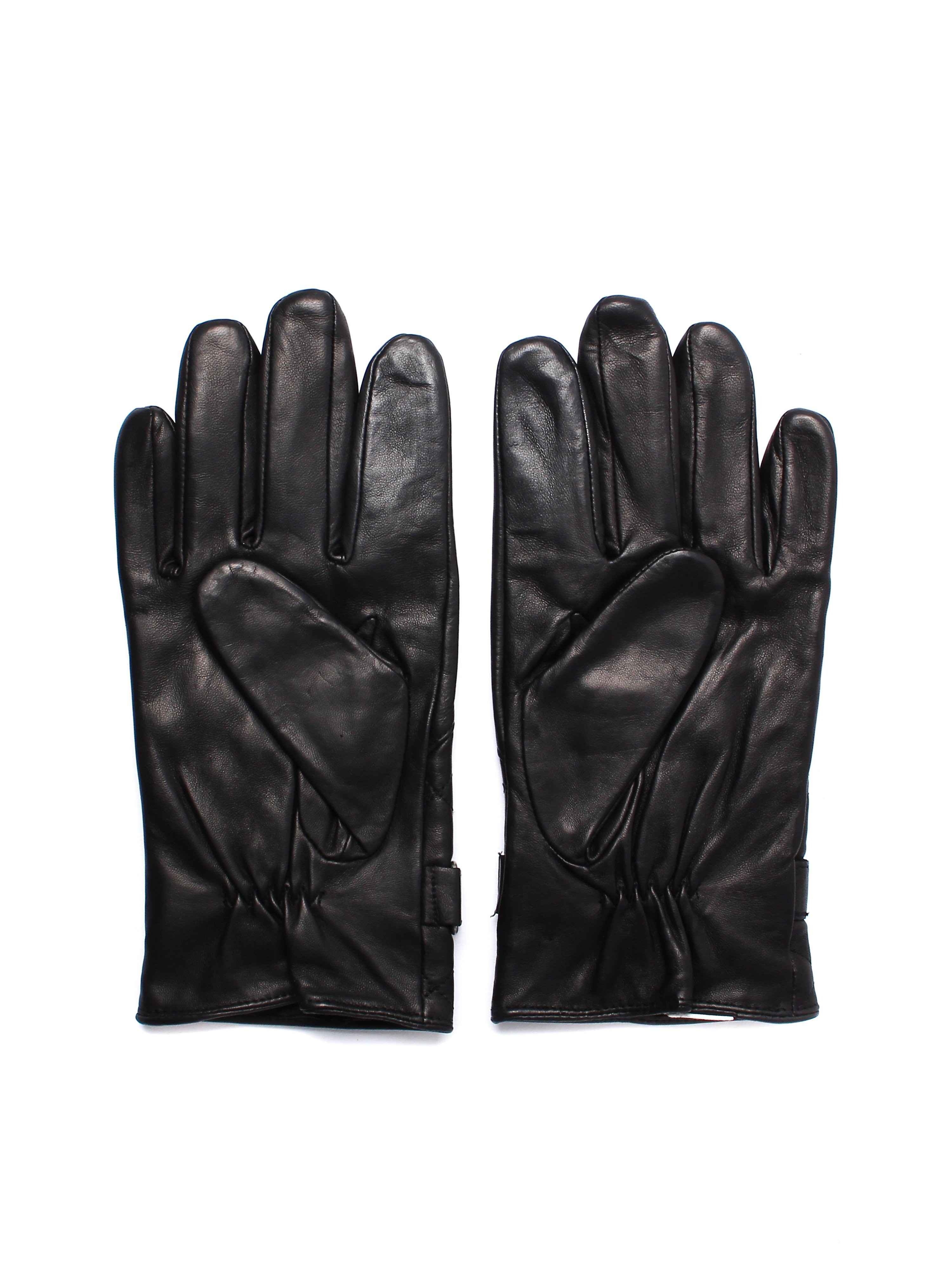 Timberland Men's Gloves - Black Leather