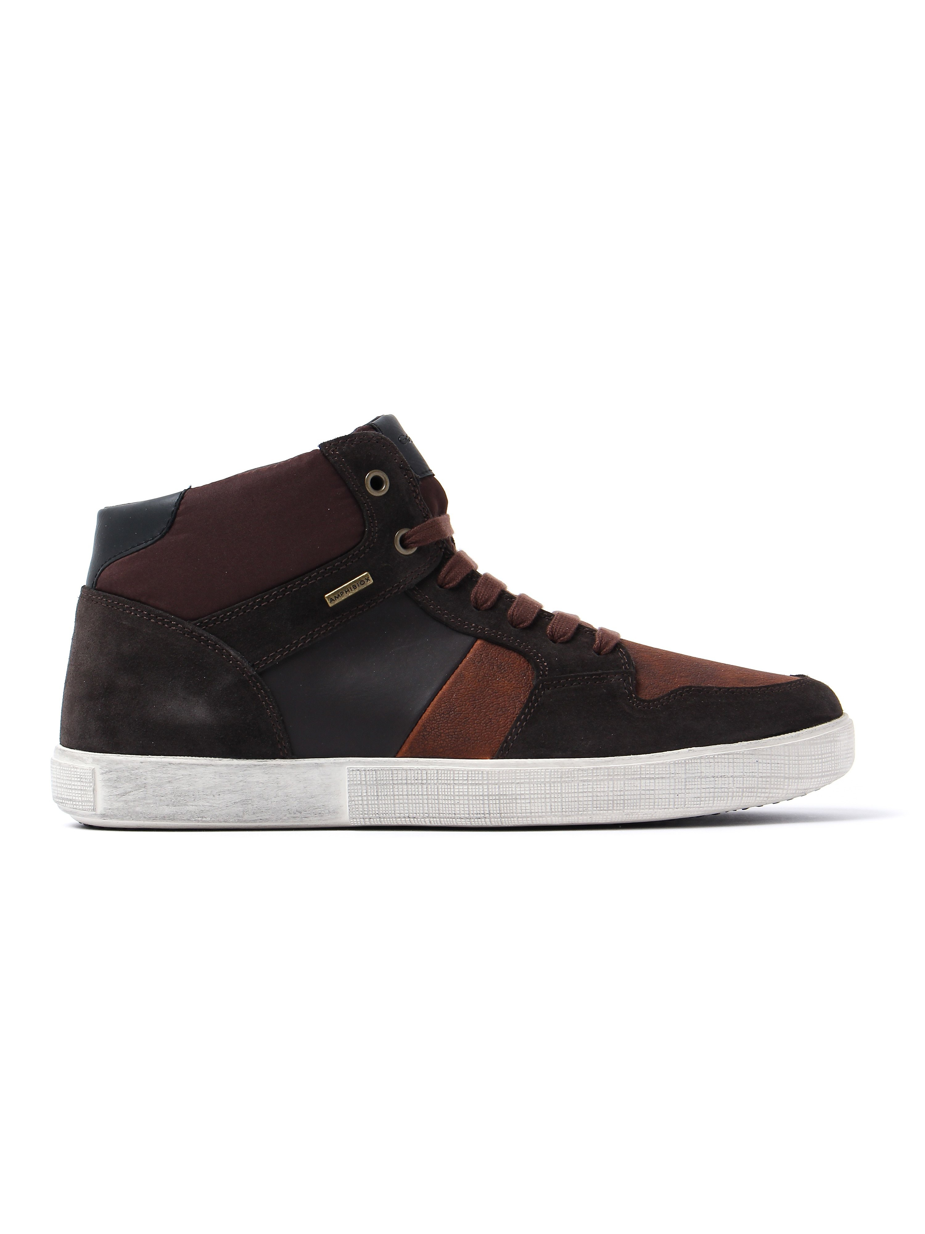 Geox Men's Taiki Abx Trainers - Dark Coffee Suede