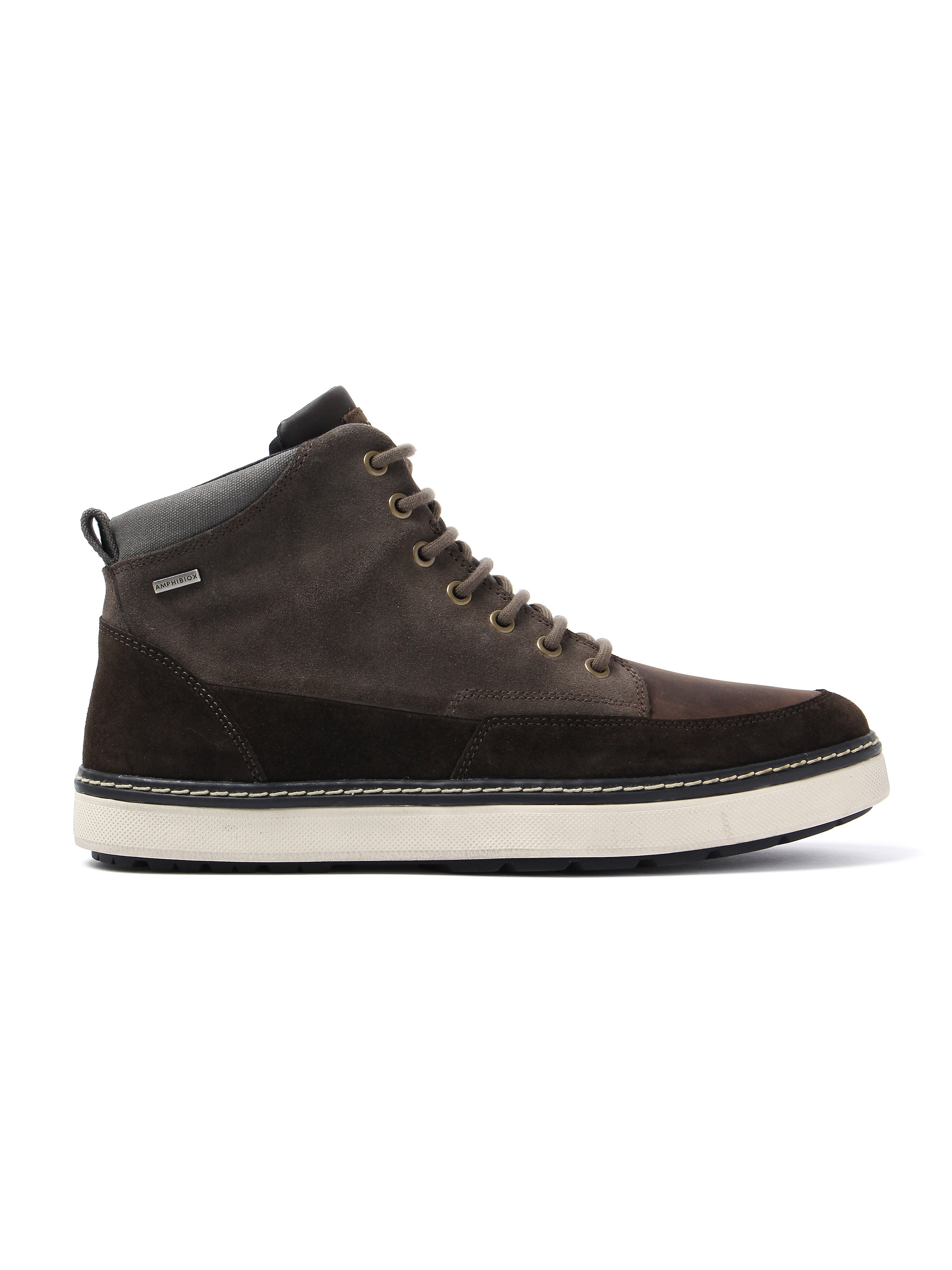 Geox Men's Mattias Abx Trainers - Chestnut Suede