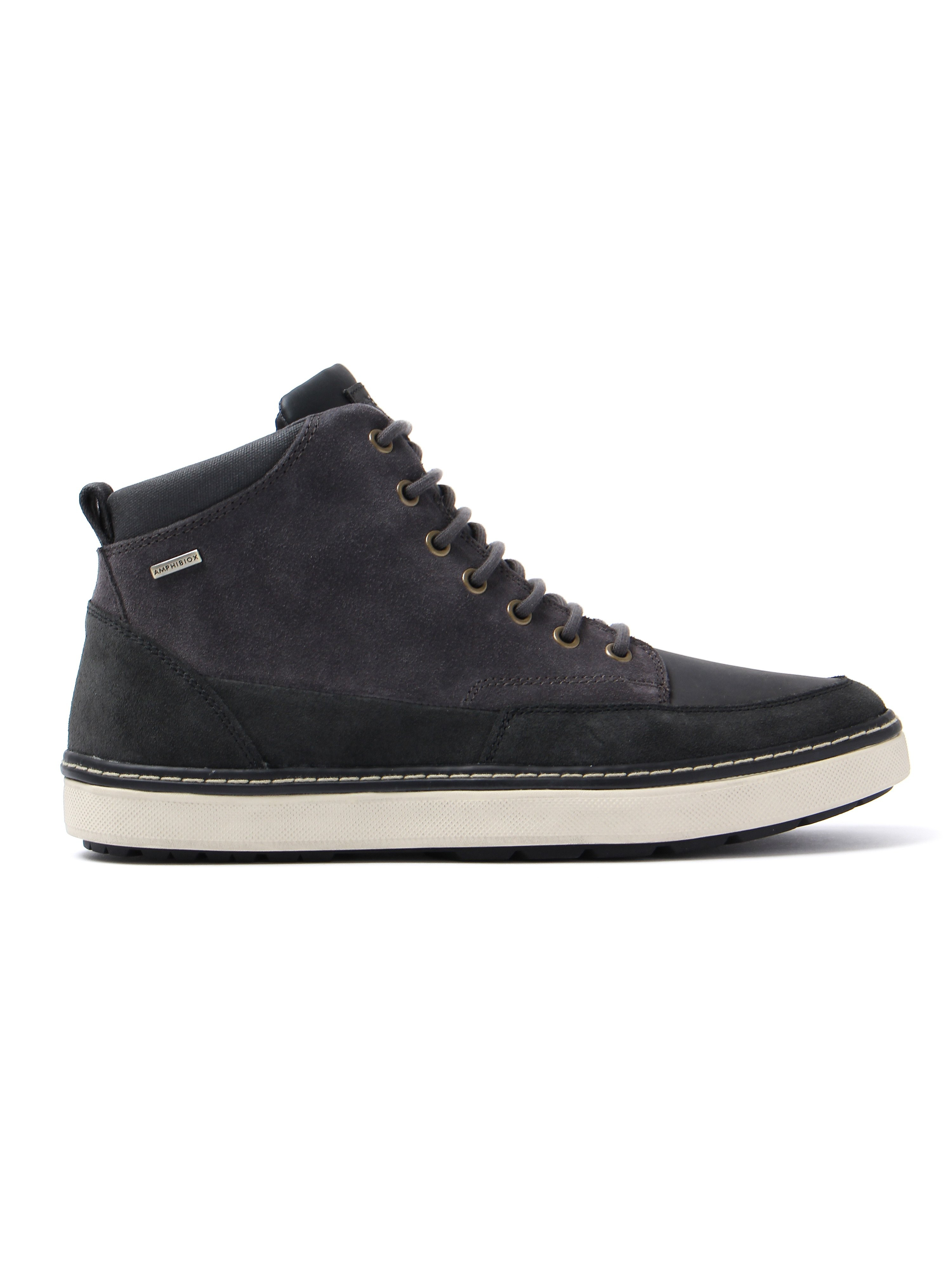 Geox Men's Mattias Abx Trainers - Anthracite Suede