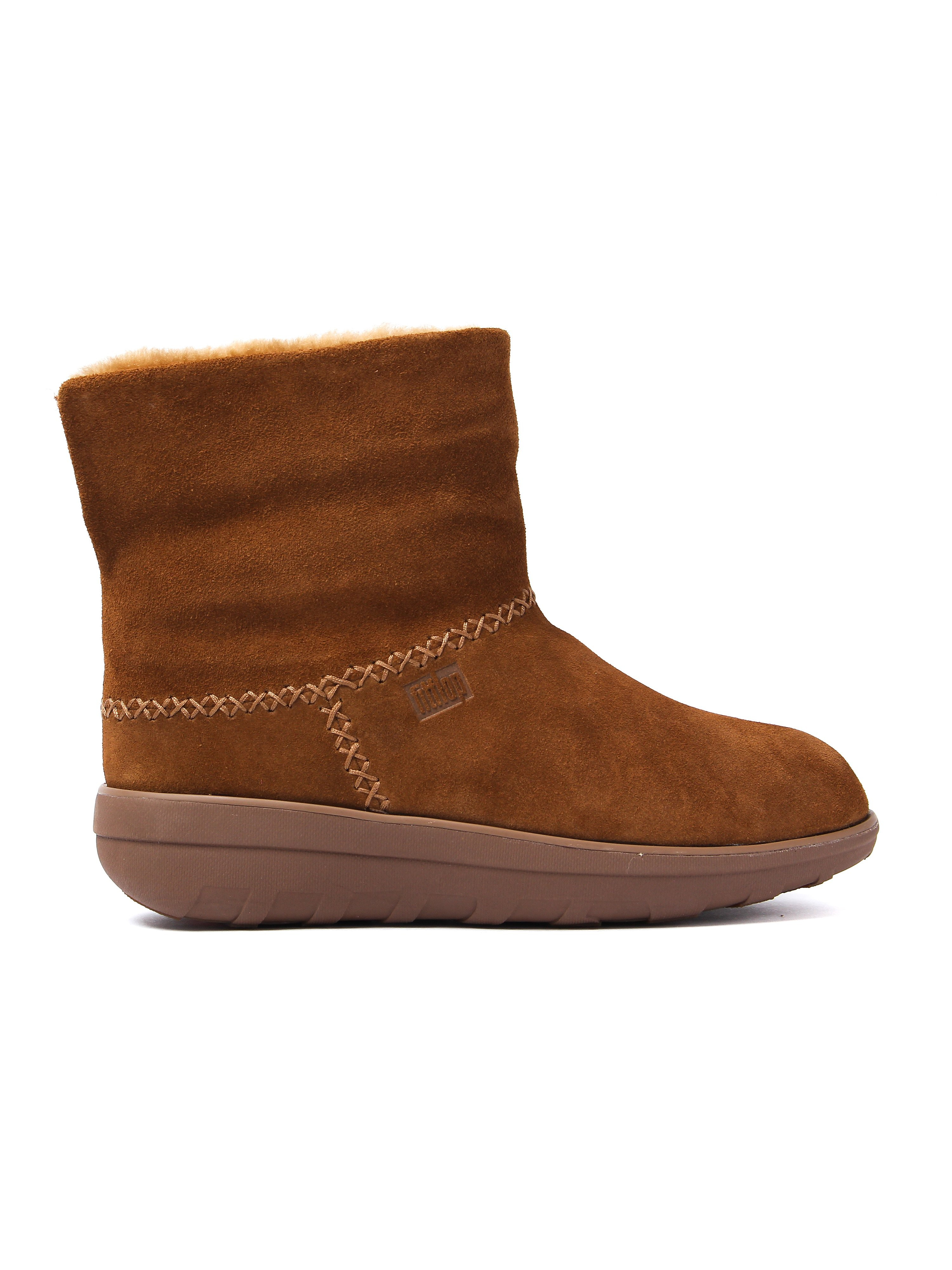 FitFlop Women's Mukluk Shorty 2 Boots - Chestnut Suede