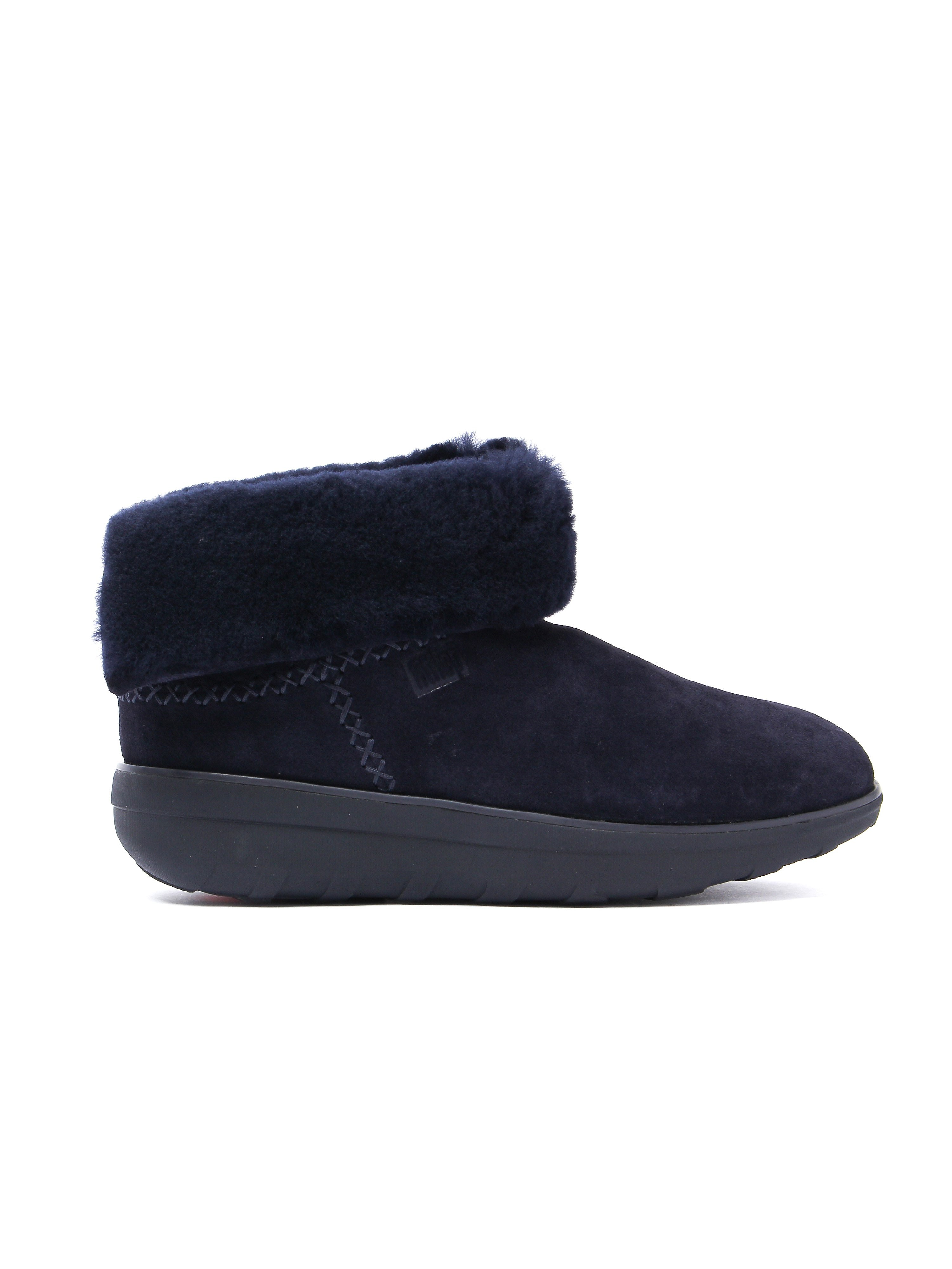 FitFlop Women's Mukluk Shorty 2 Boots - Supernavy Suede