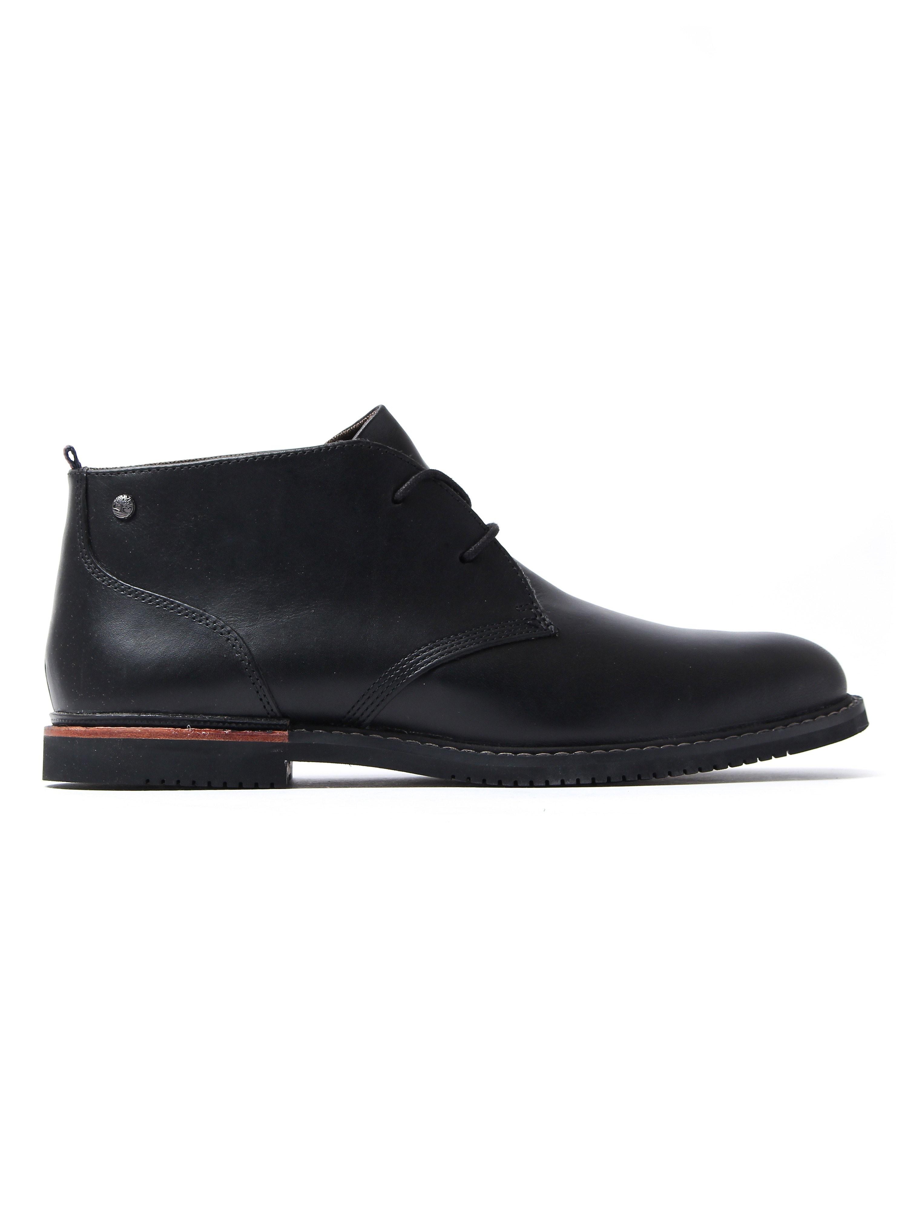 Timberland Men's Brook Park Chukka Boots - Black Leather