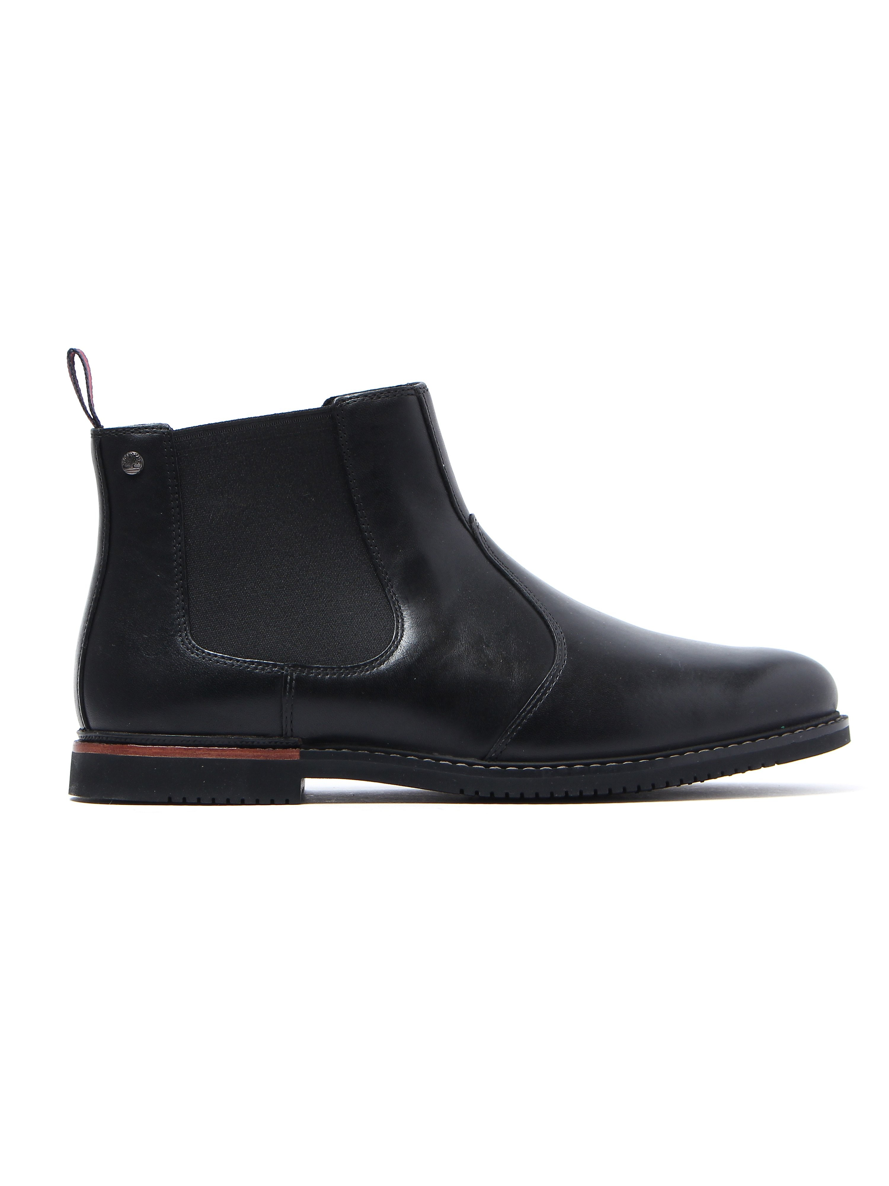 Timberland Men's Ekbrook Park Chelsea Boots - Black Leather