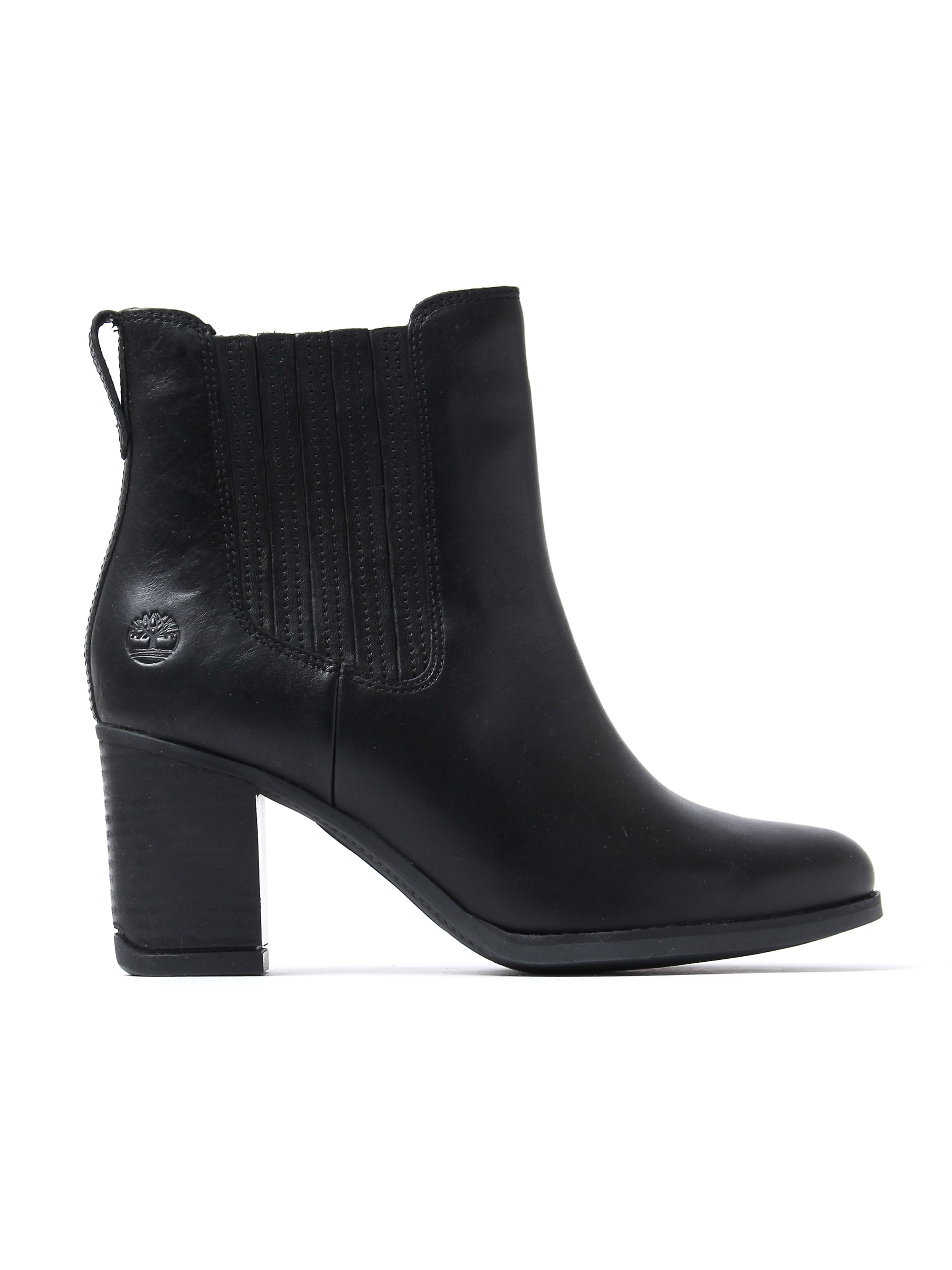 Timberland Women's Atlantic Heights Chelsea Boots - Black Leather
