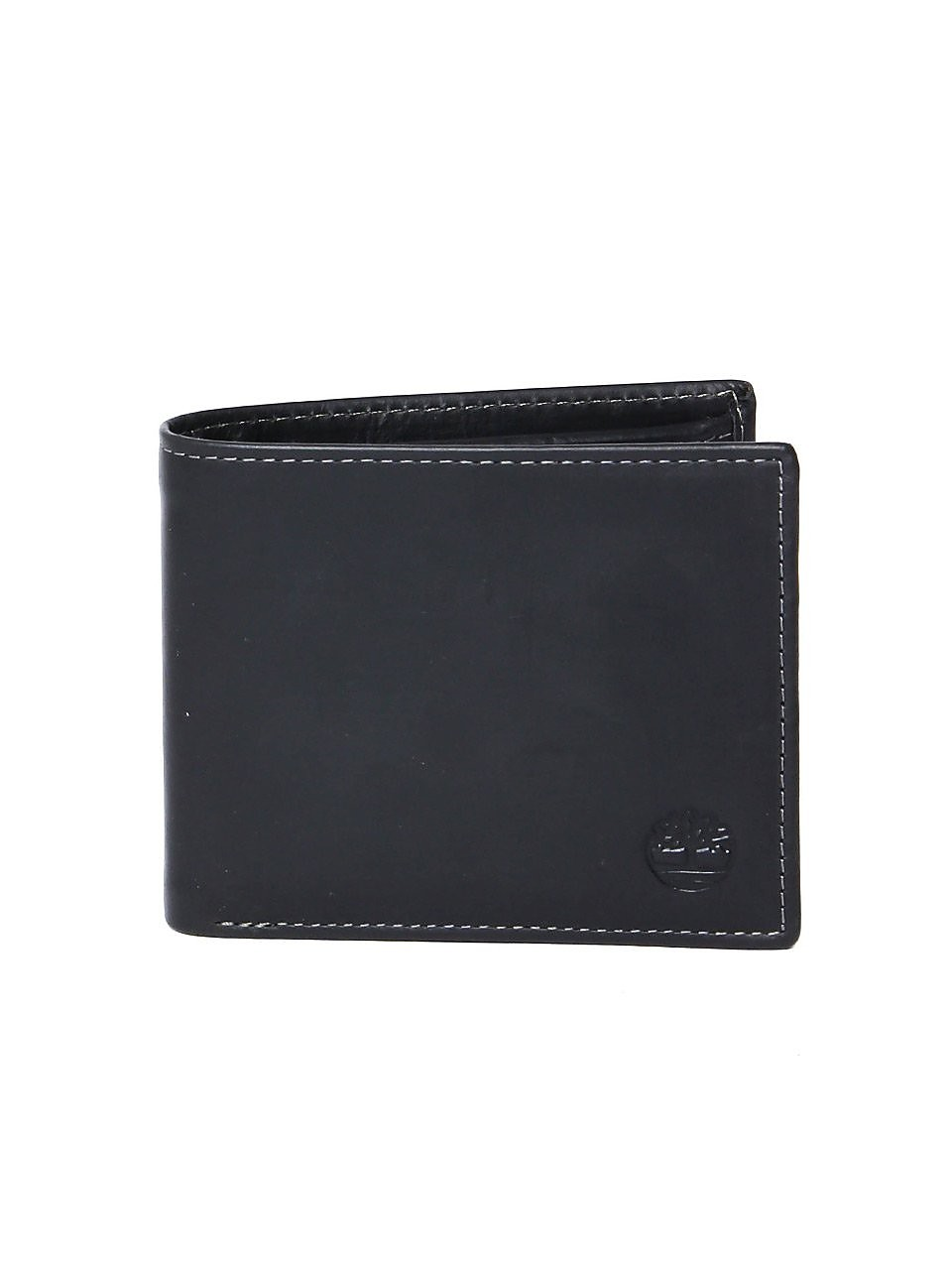 Timberland Men's ODD Billfold Wallet - Black Leather