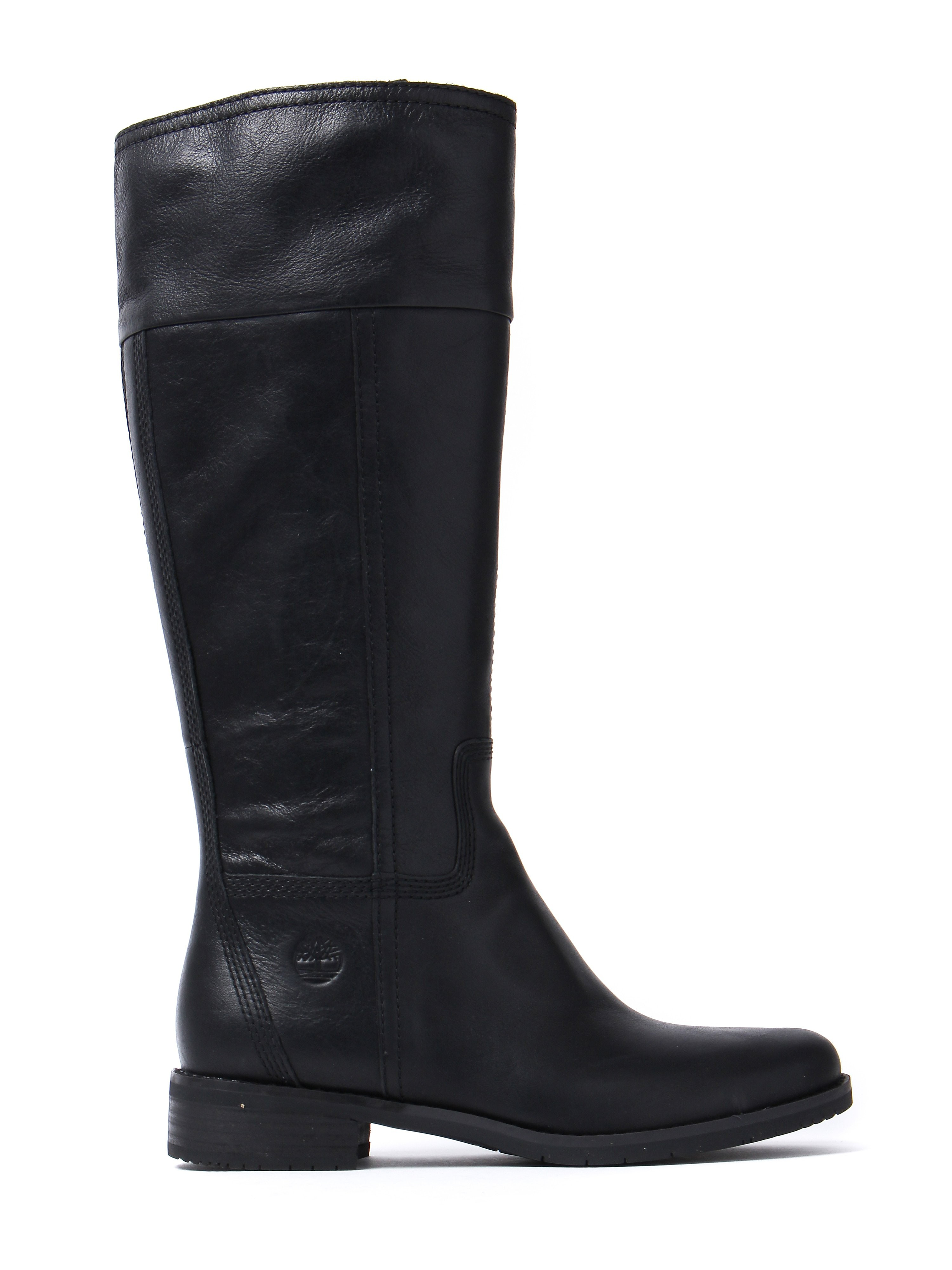 Timberland Women's Venice Park Tall Boots – Black Leather