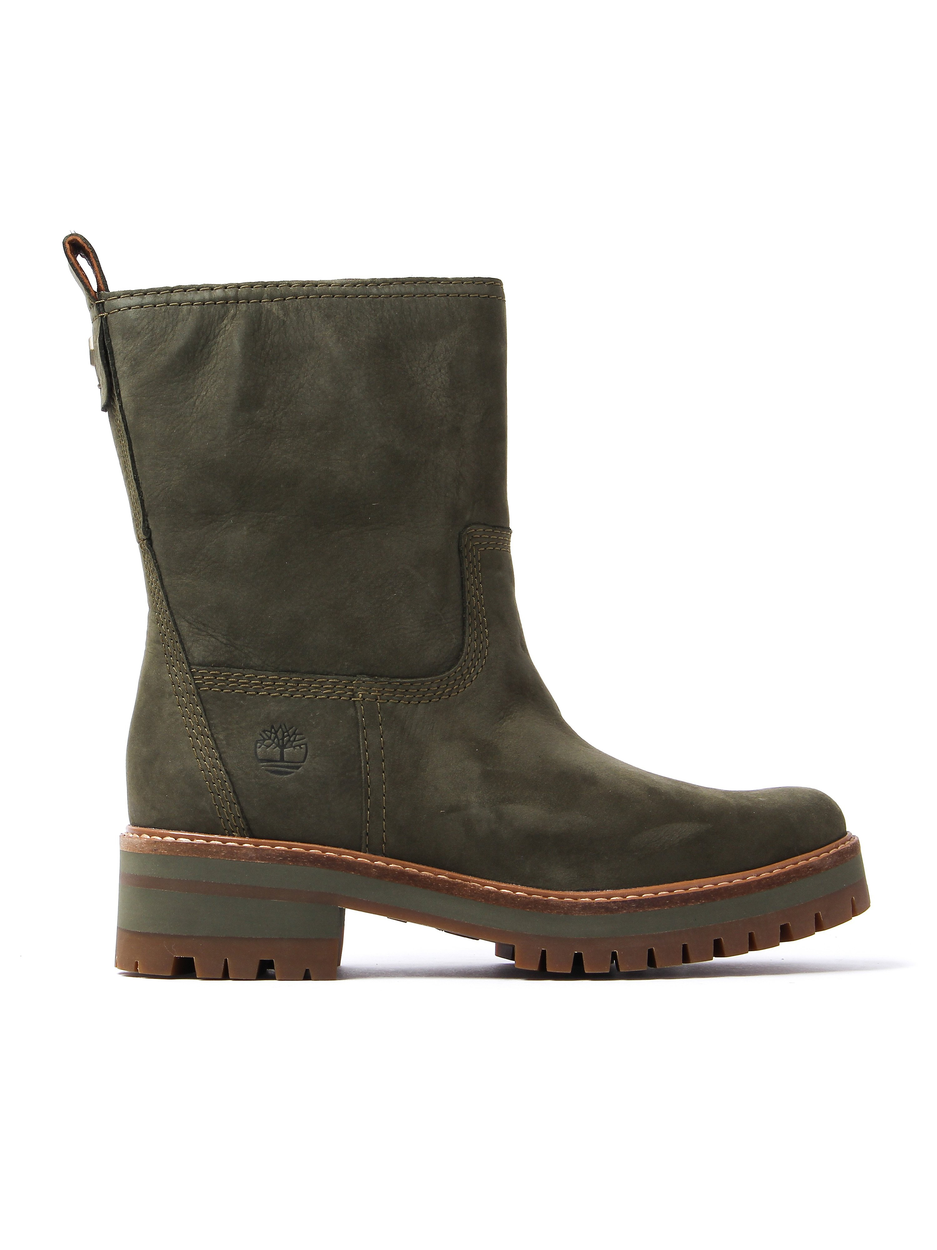 Timberland Women's Courmayeur Valley Mid Boots – Mid Olive