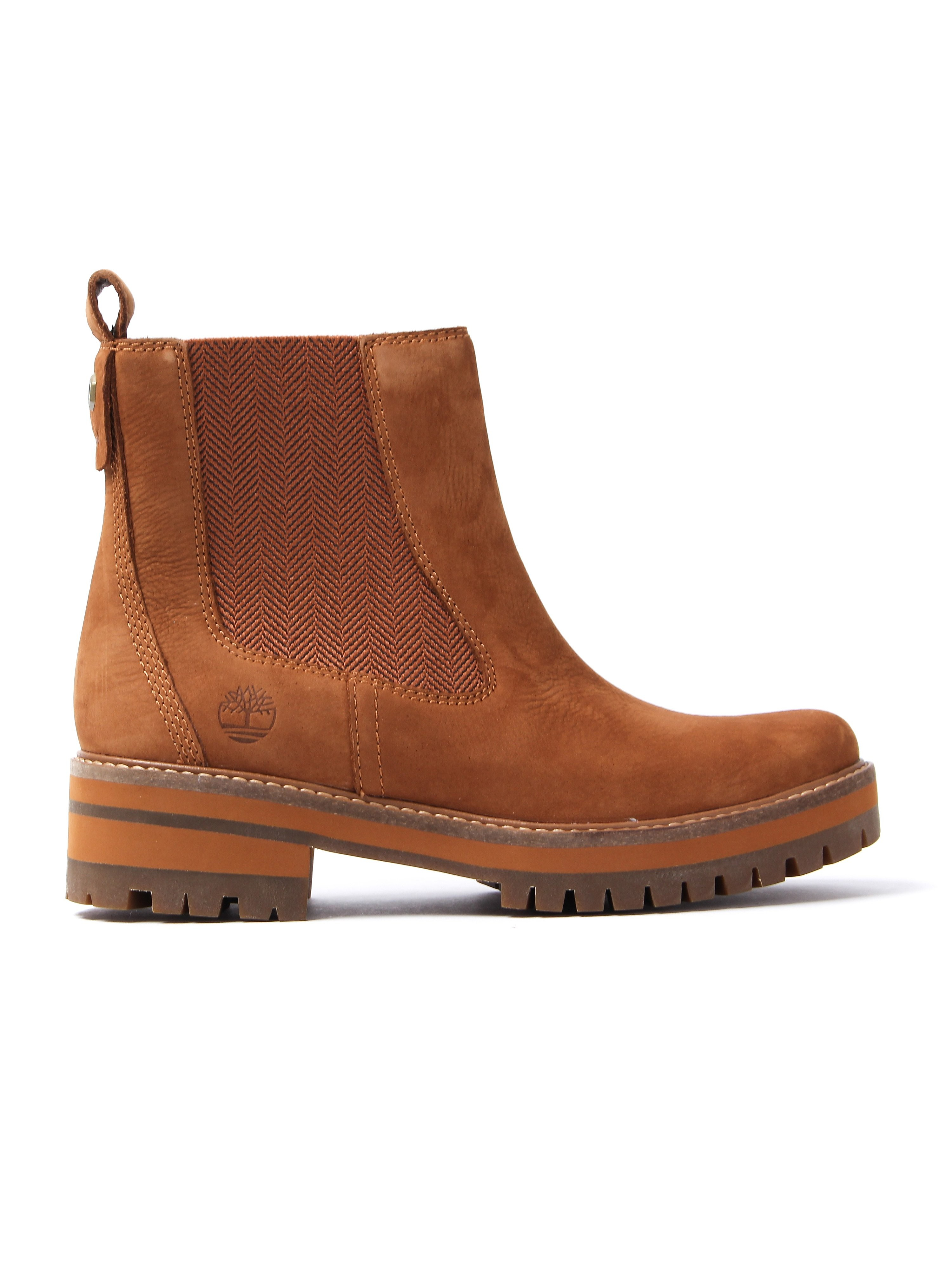 Timberland Women's Courmayeur Valley Chelsea Boots – Rust