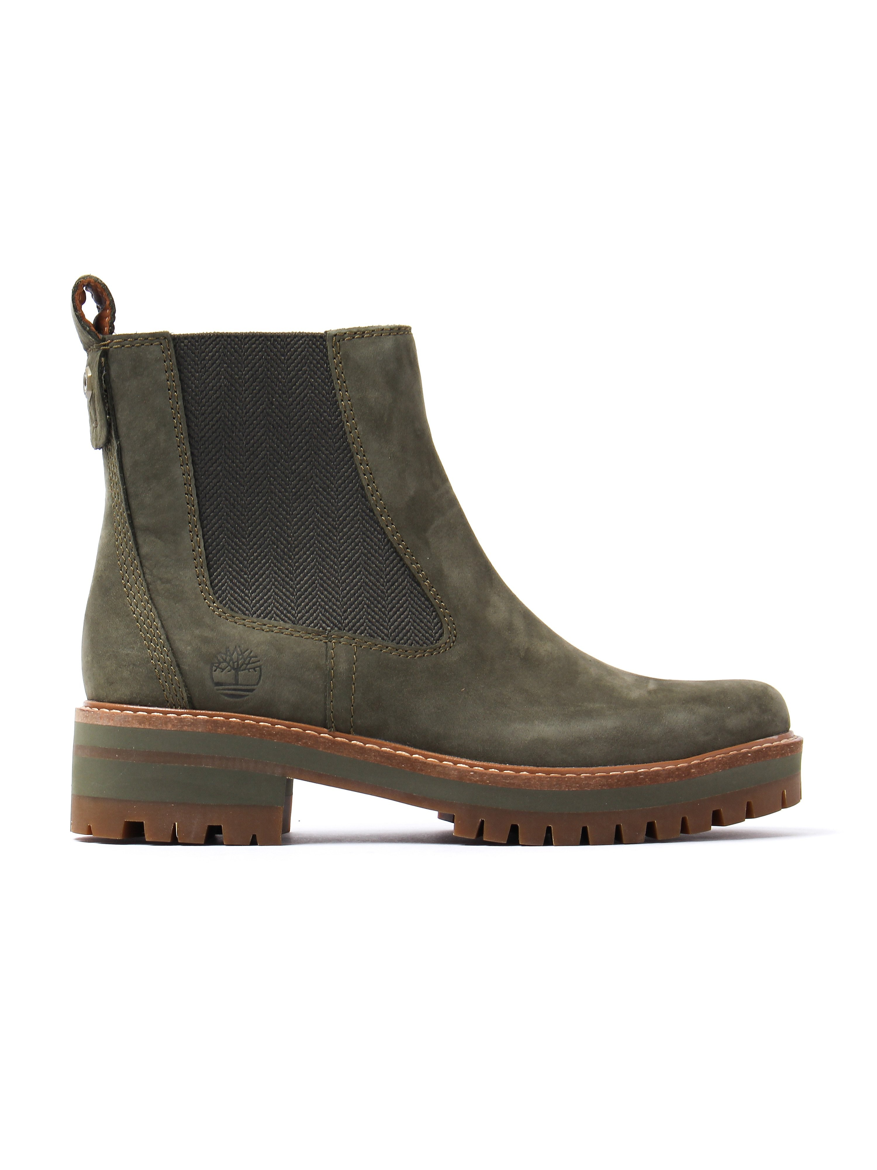 Timberland Women's Courmayeur Valley Chelsea Boots – Olive
