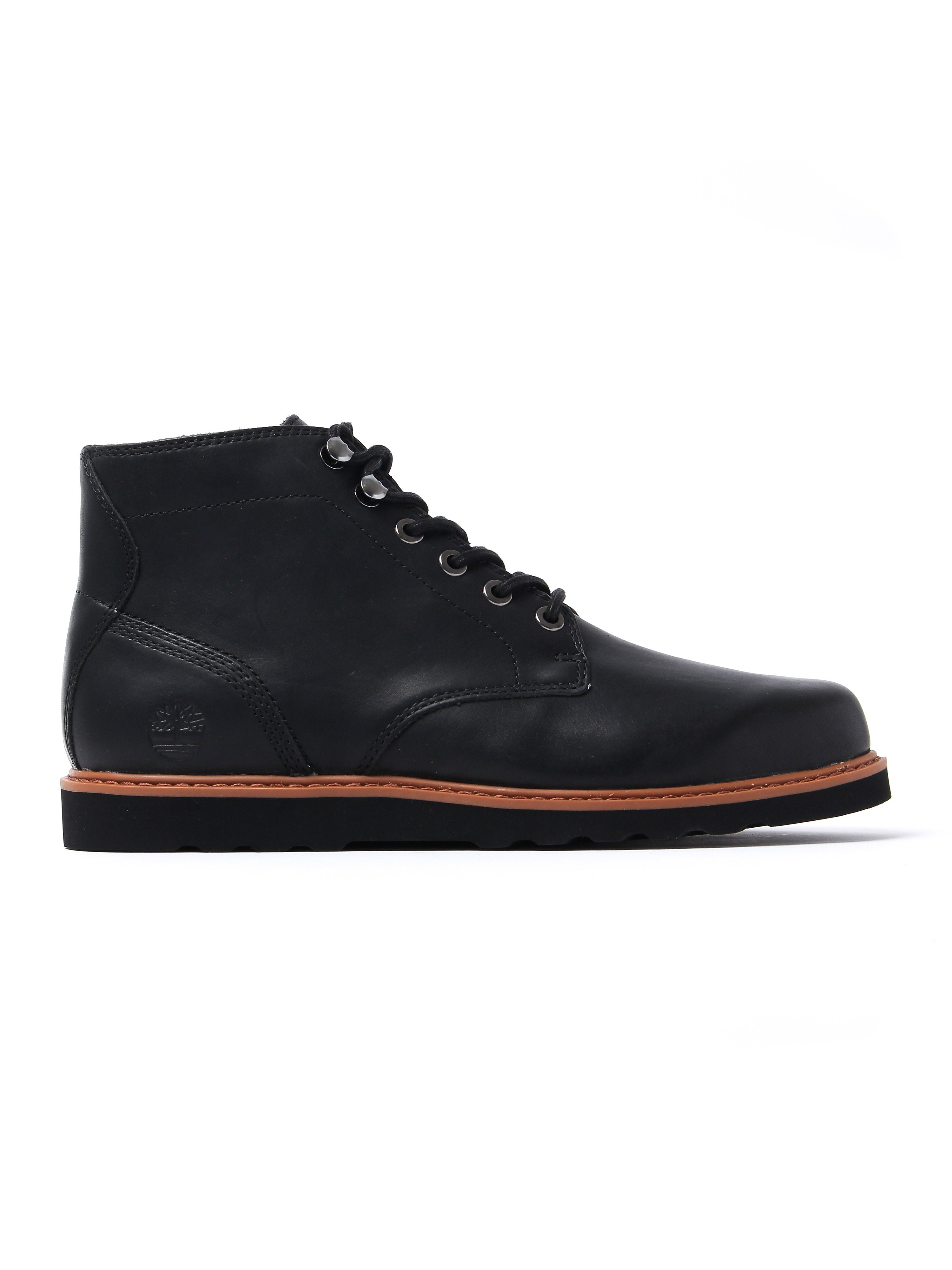 Timberland Men's Newmarket Chukka Boots - Jet Black Leather