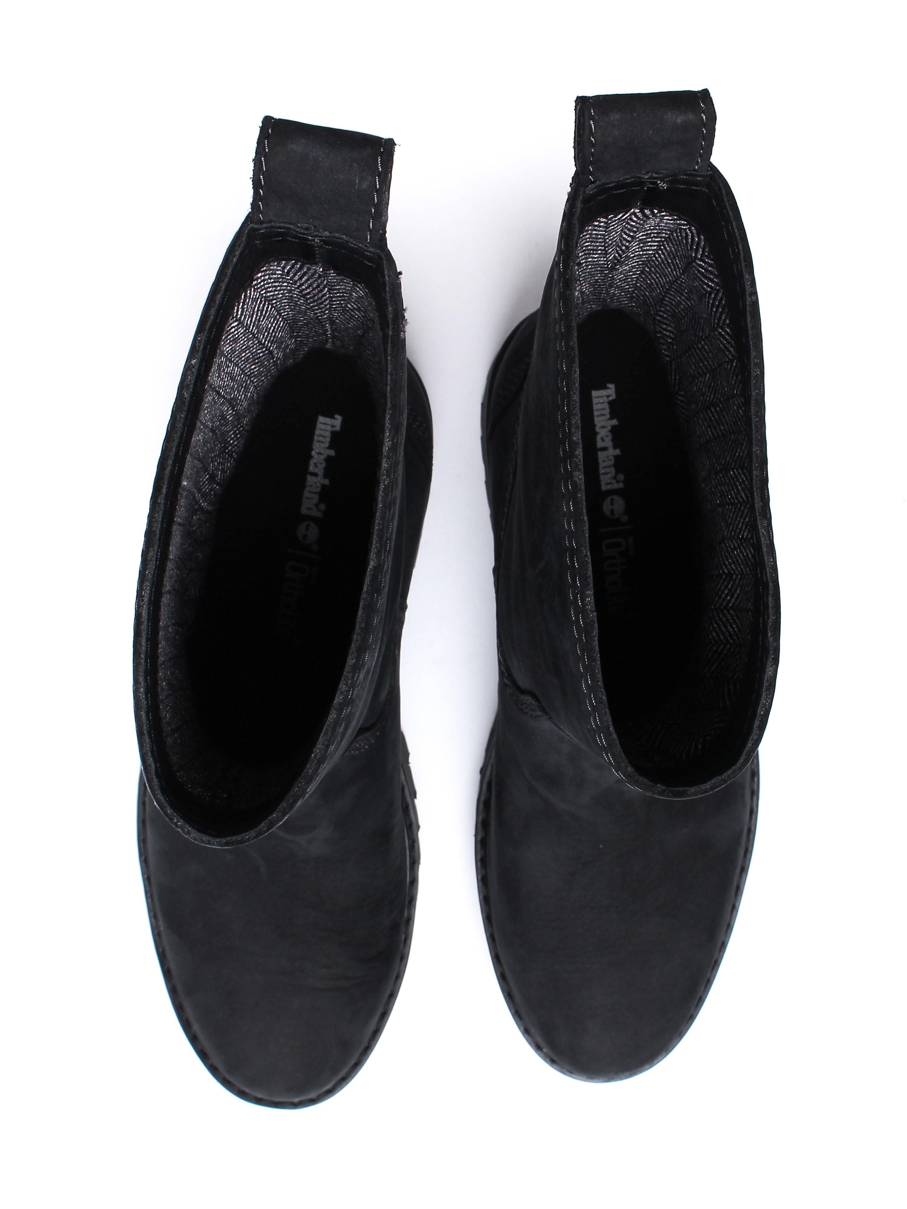 Timberland Women's Courmayeur Valley Mid Boots – Black