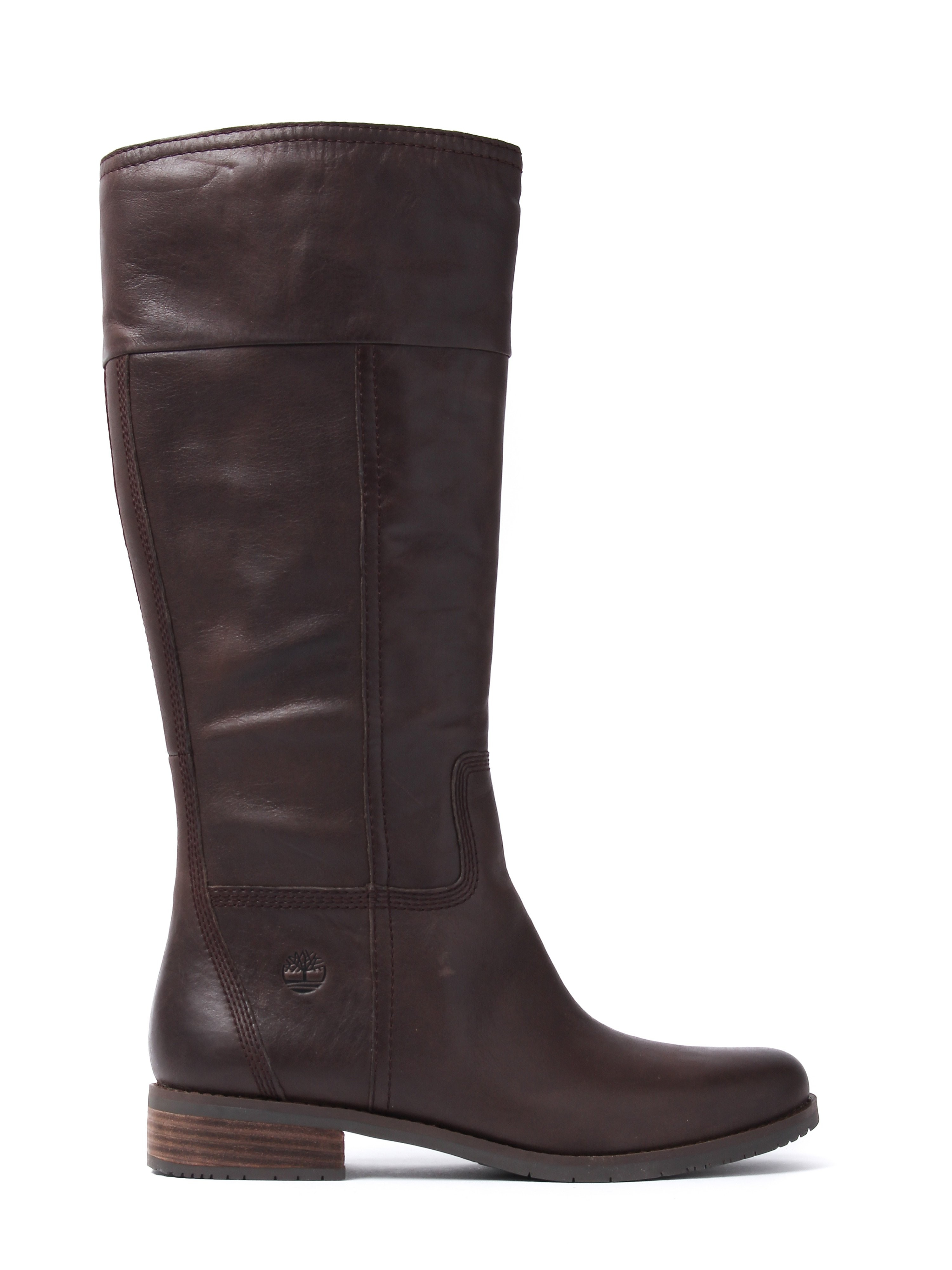 Timberland Women's Venice Park Tall Boots – Brown Leather