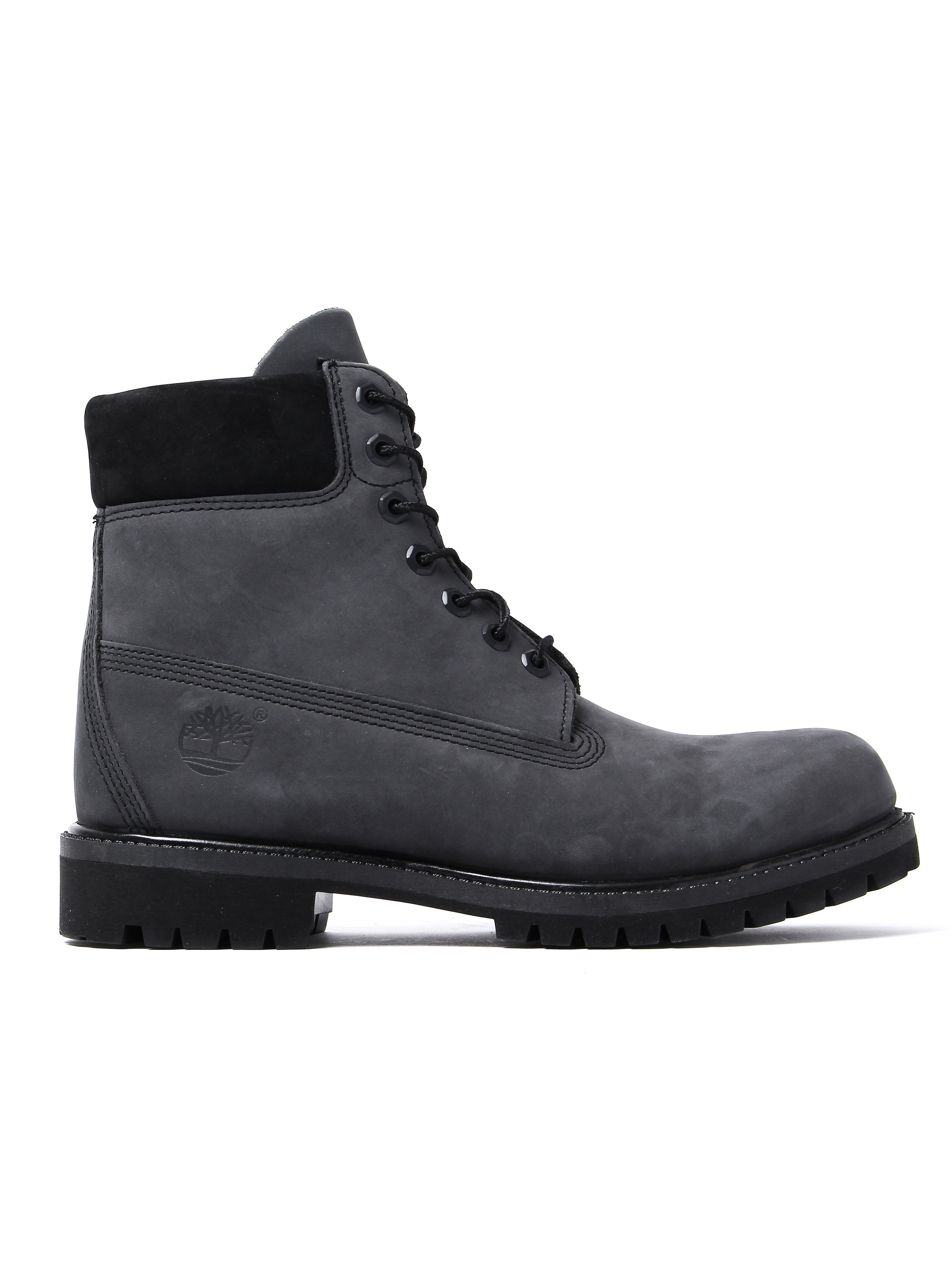 Timberland Men's  Inch Premium Boots - Forged Iron Nubuck