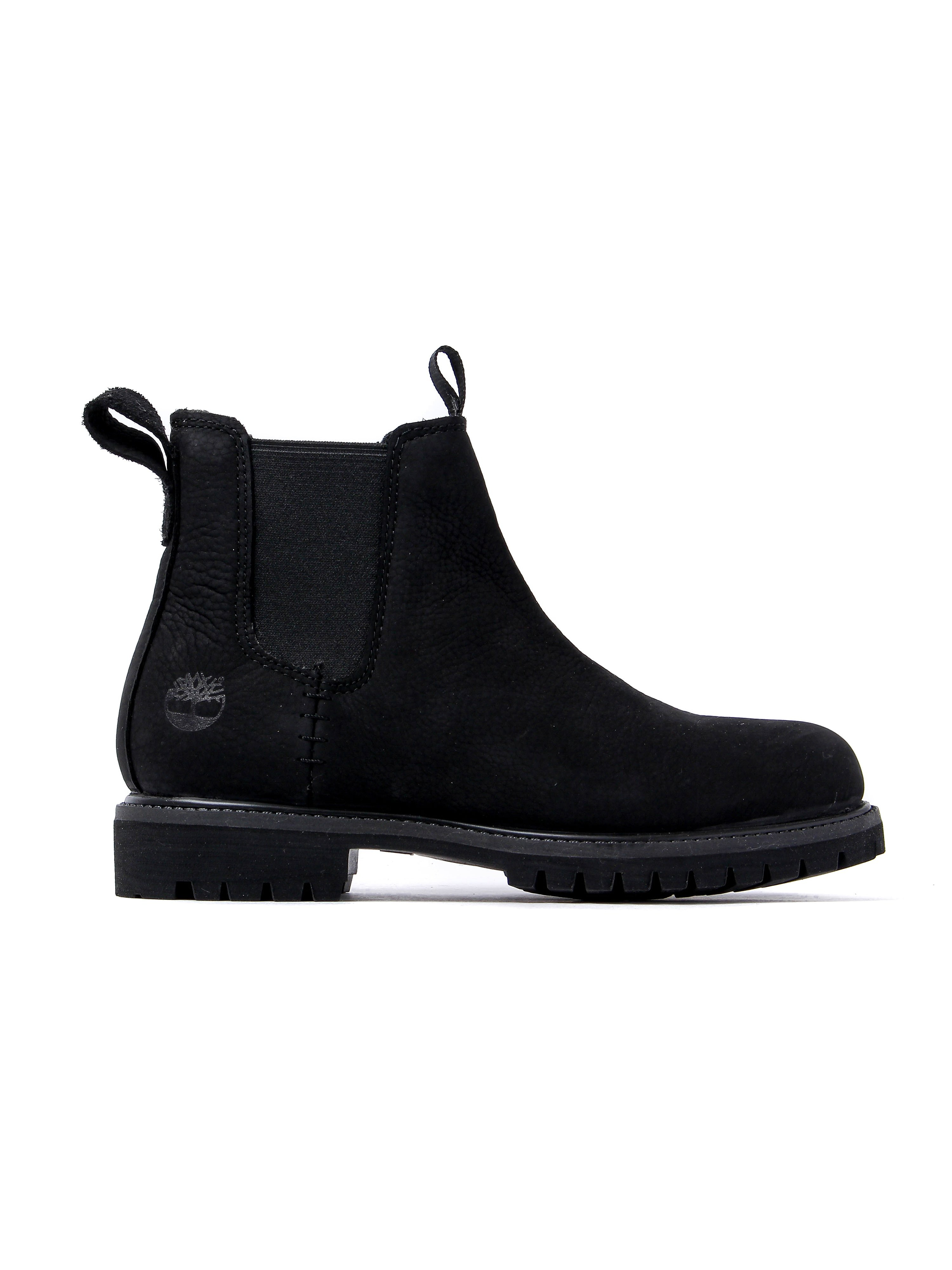 Timberland Men's 6 Inch Premium Chelsea Boots - Jet Black Nubuck
