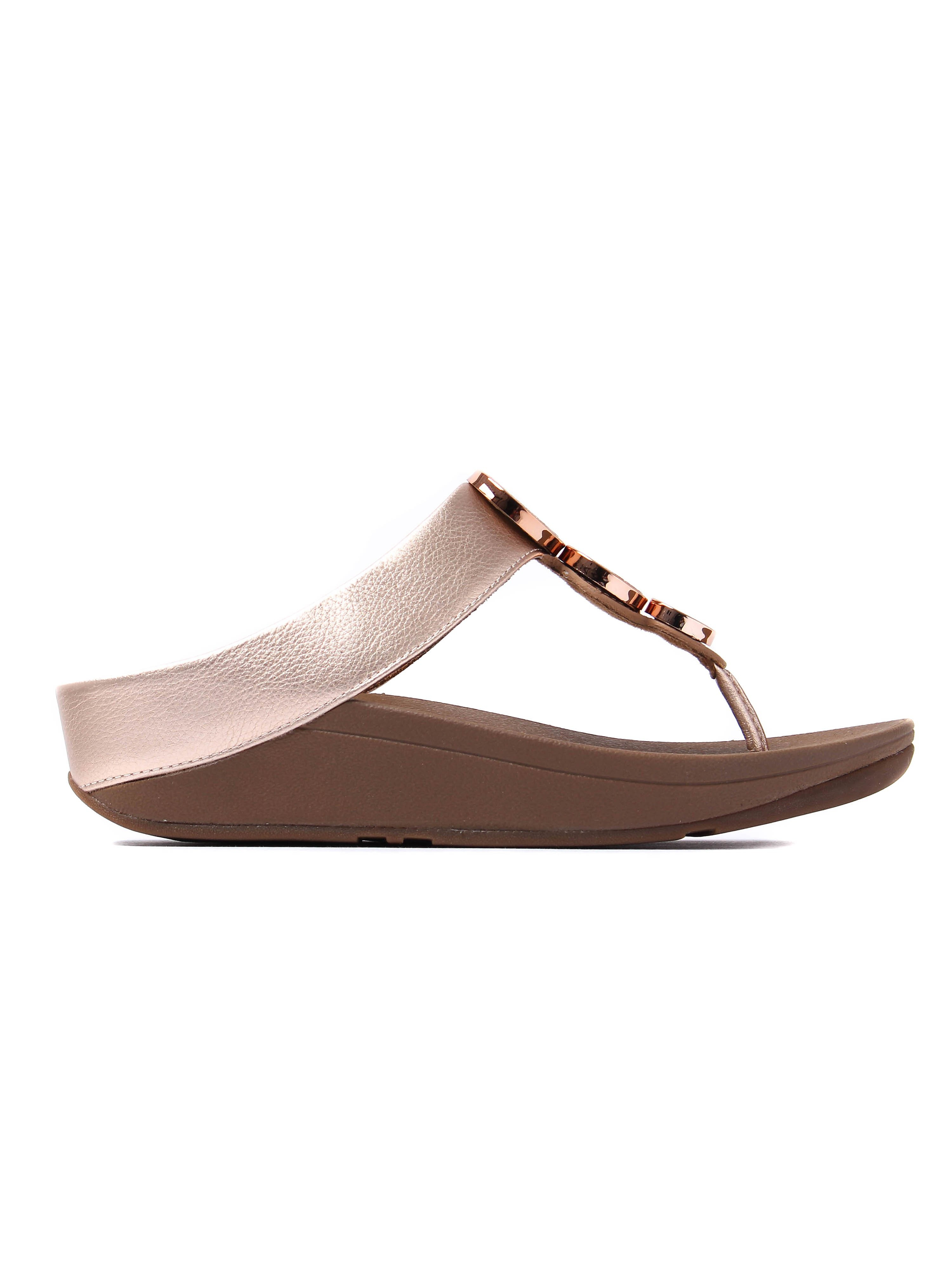 FitFlop Women's Halo Sandals - Rose Gold