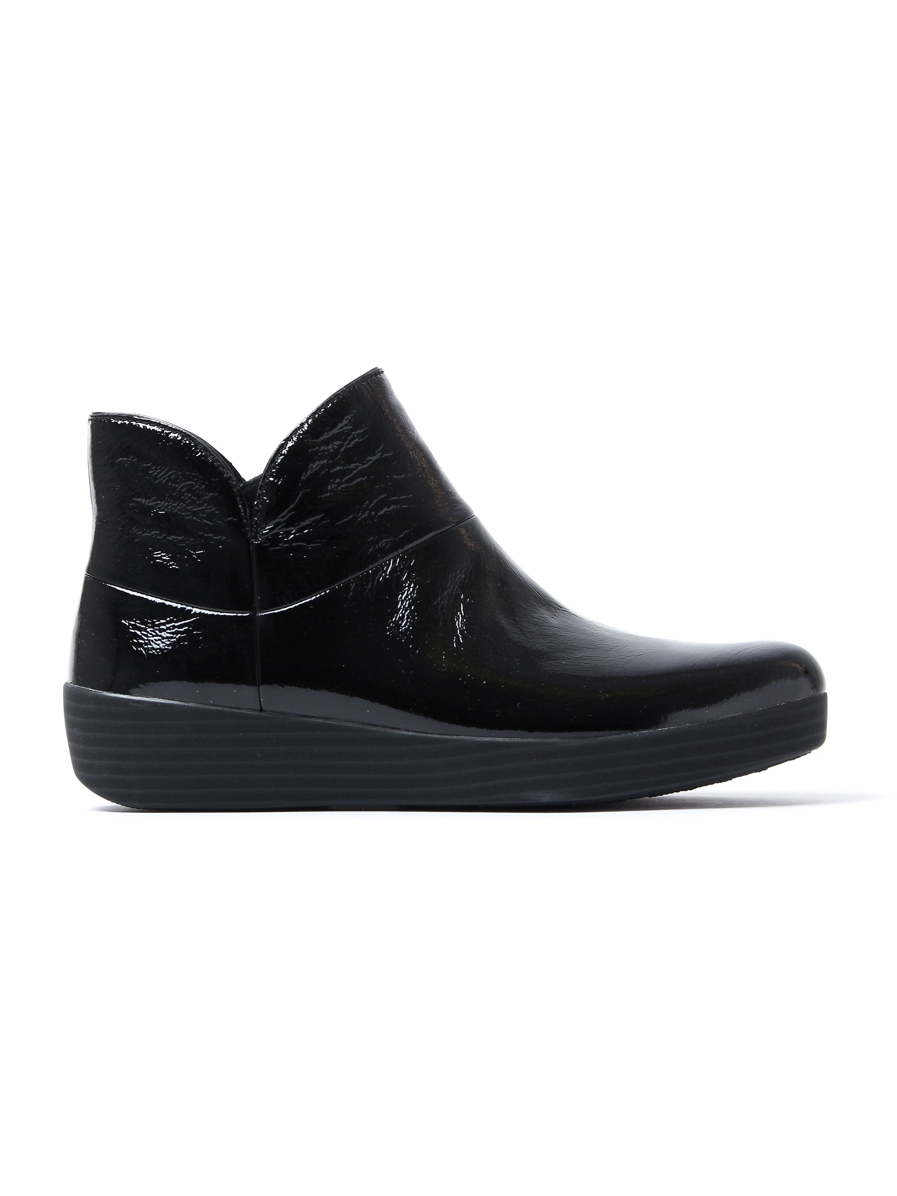 FitFlop Women's Supermod II Ankle Boots - Black Patent
