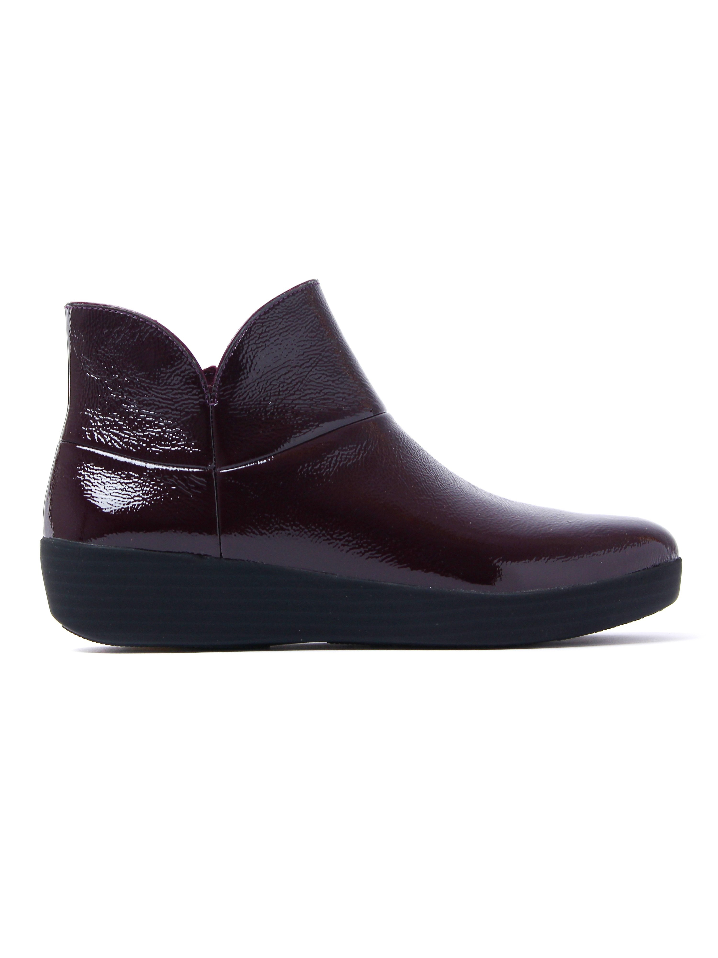FitFlop Women's Supermod II Ankle Boots - Plum Patent