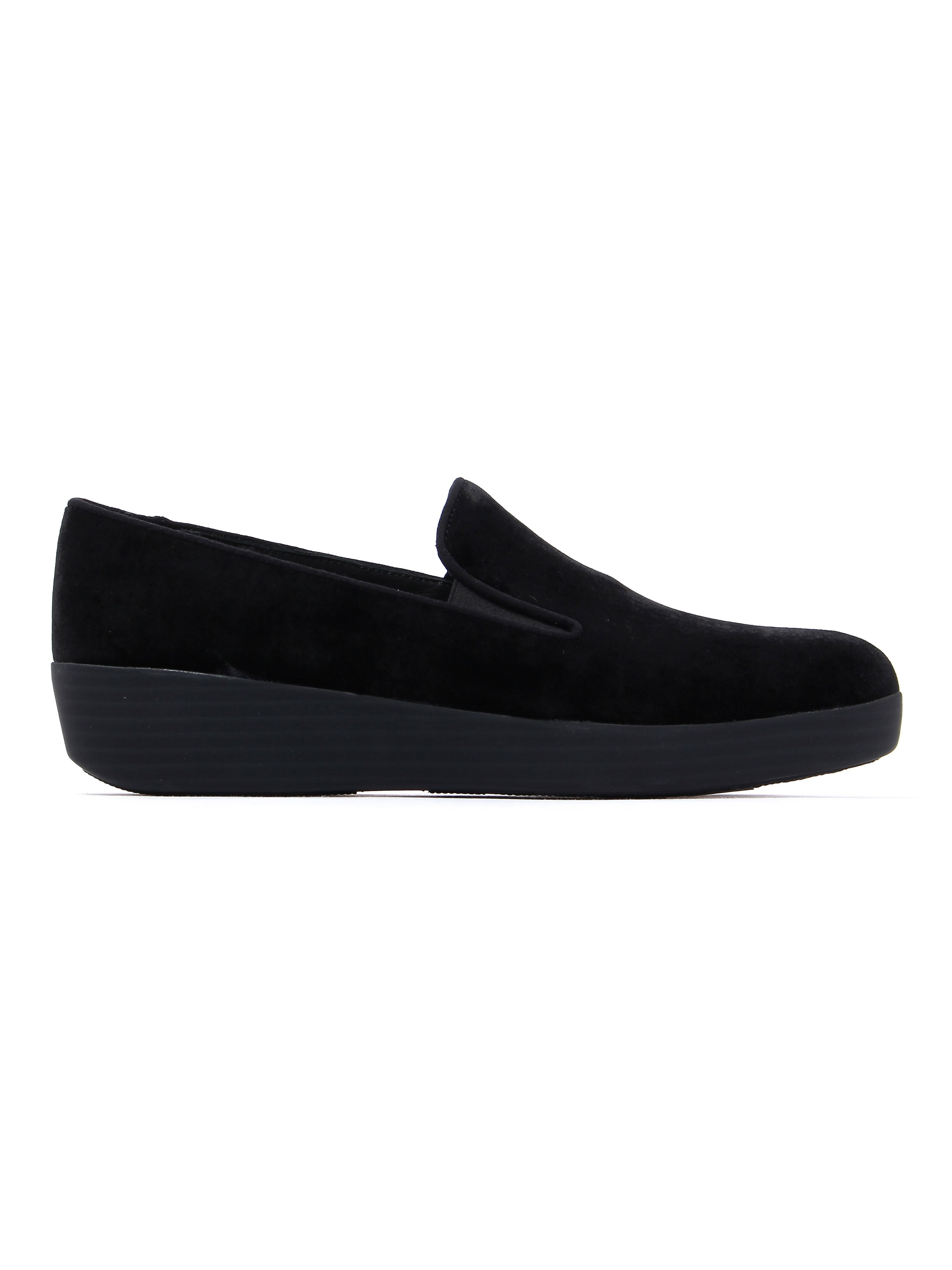 FitFlop Women's Superskate Loafers - Black Velvet