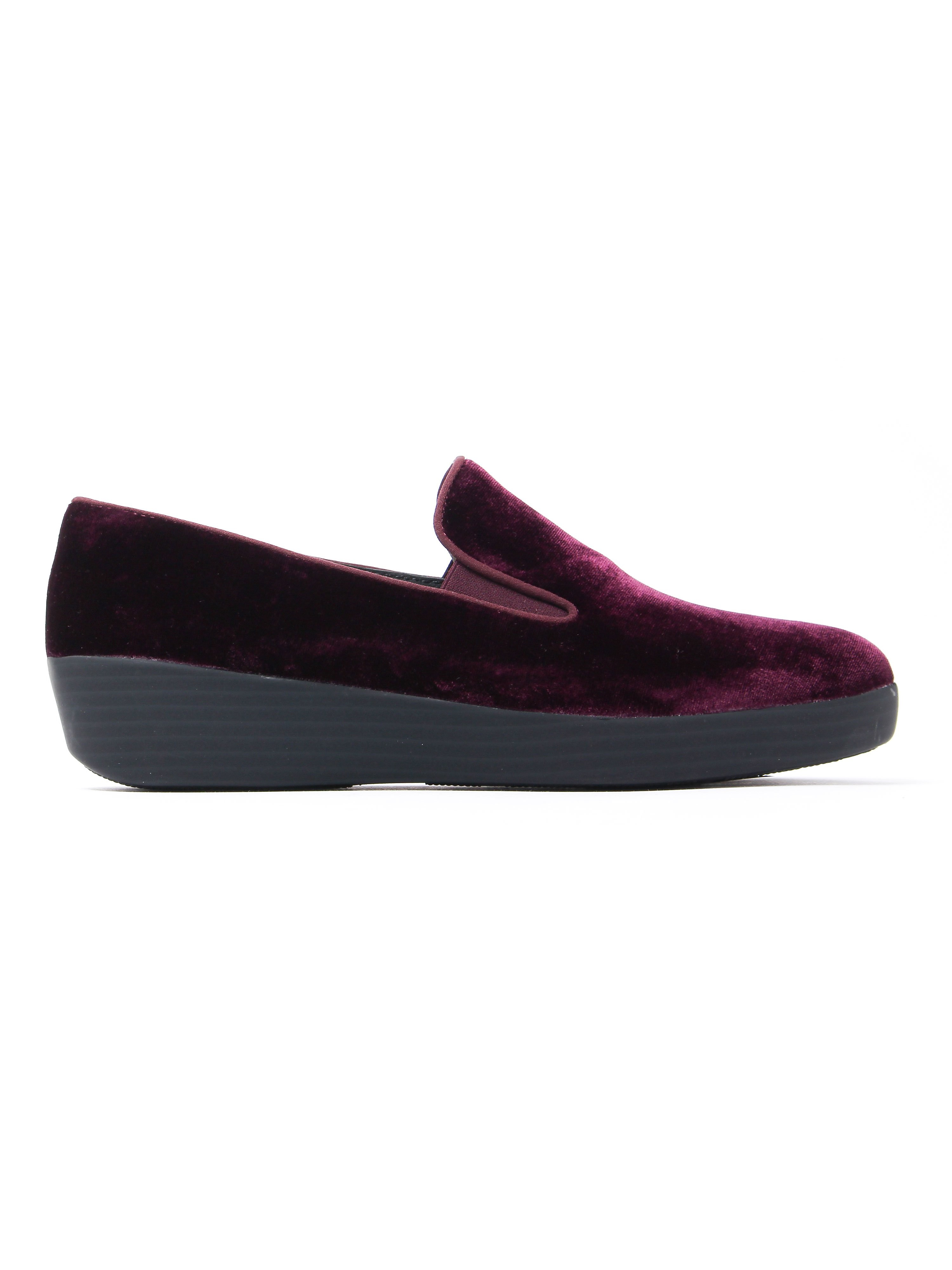 FitFlop Women's Superskate Loafers - Purple Velvet