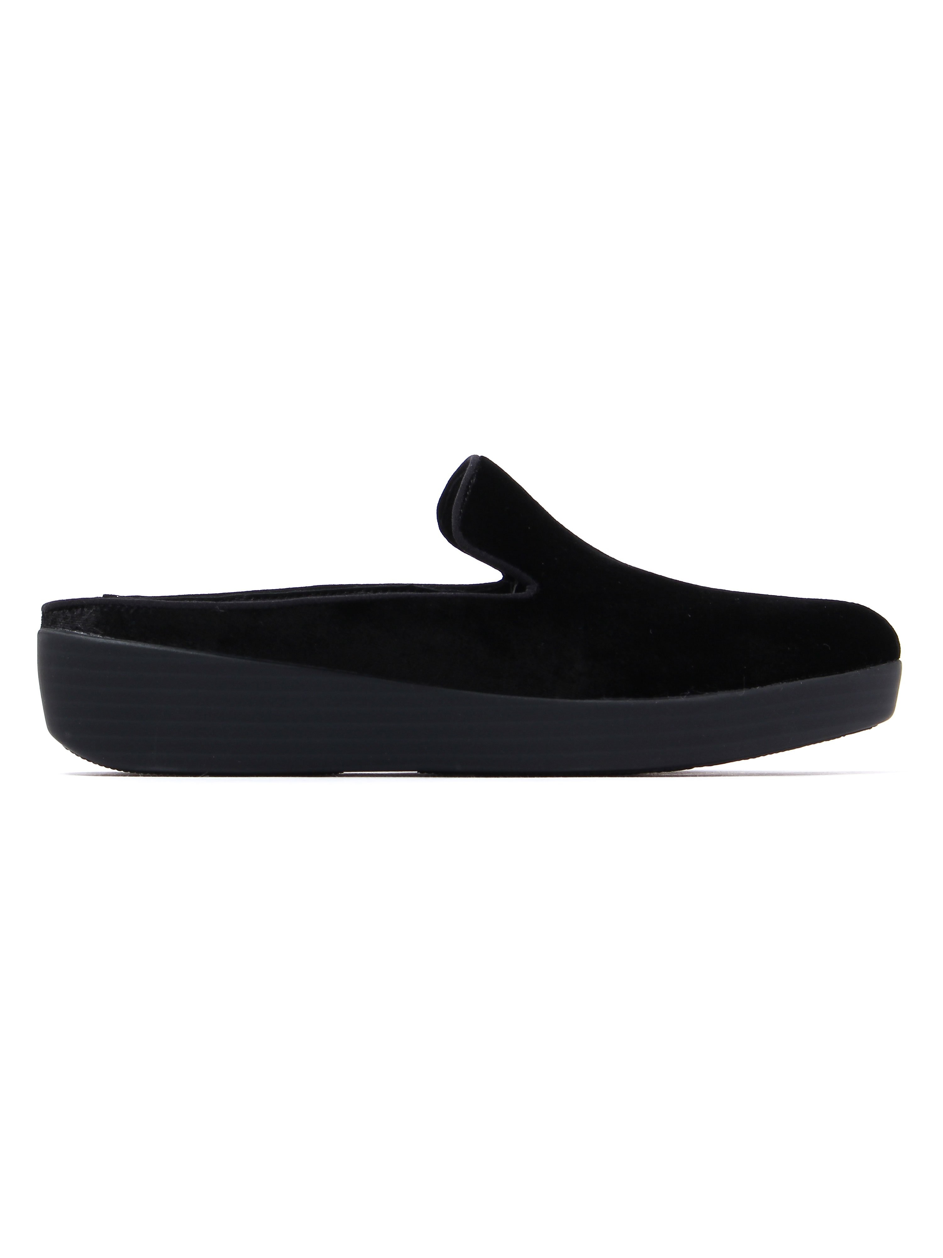 FitFlop Women's Superskate Mules - Black Velvet