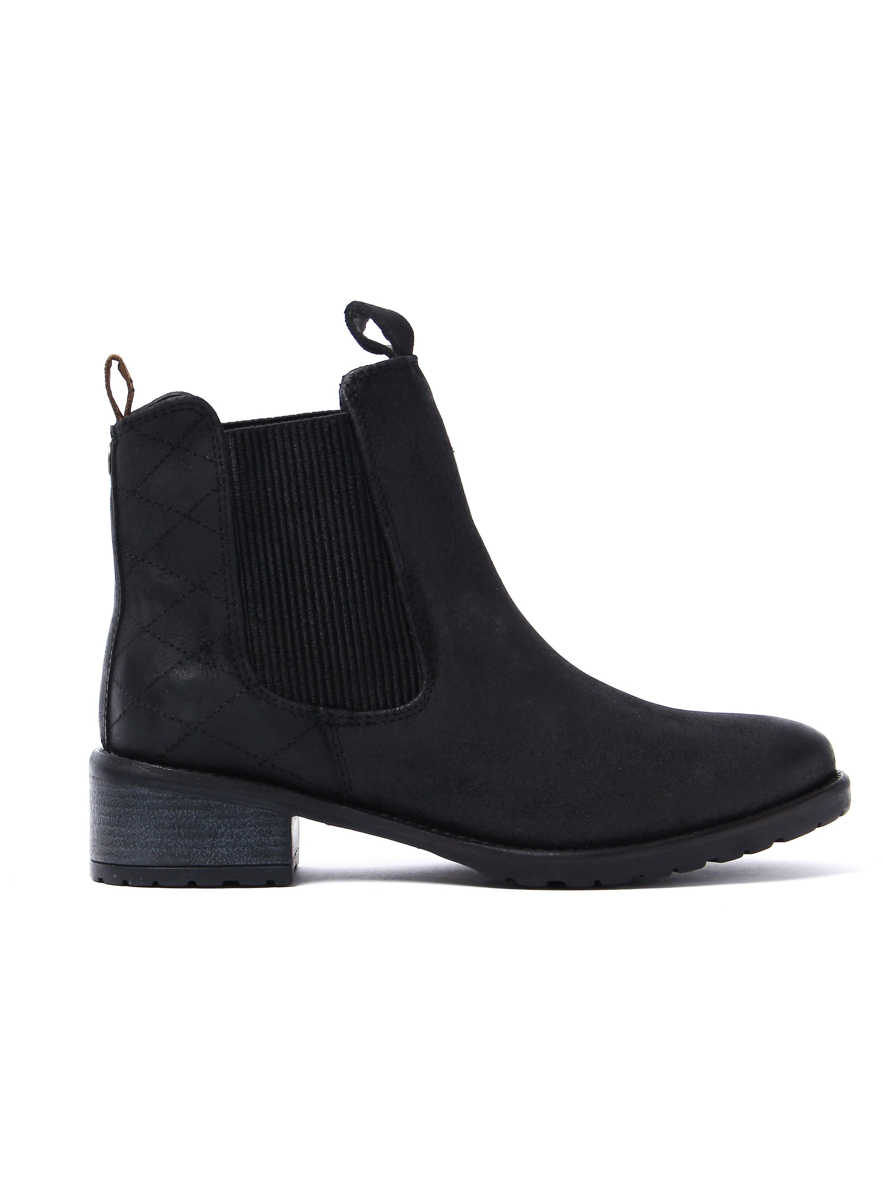 Barbour Women's Latimer Chelsea Boots - Black Waxy