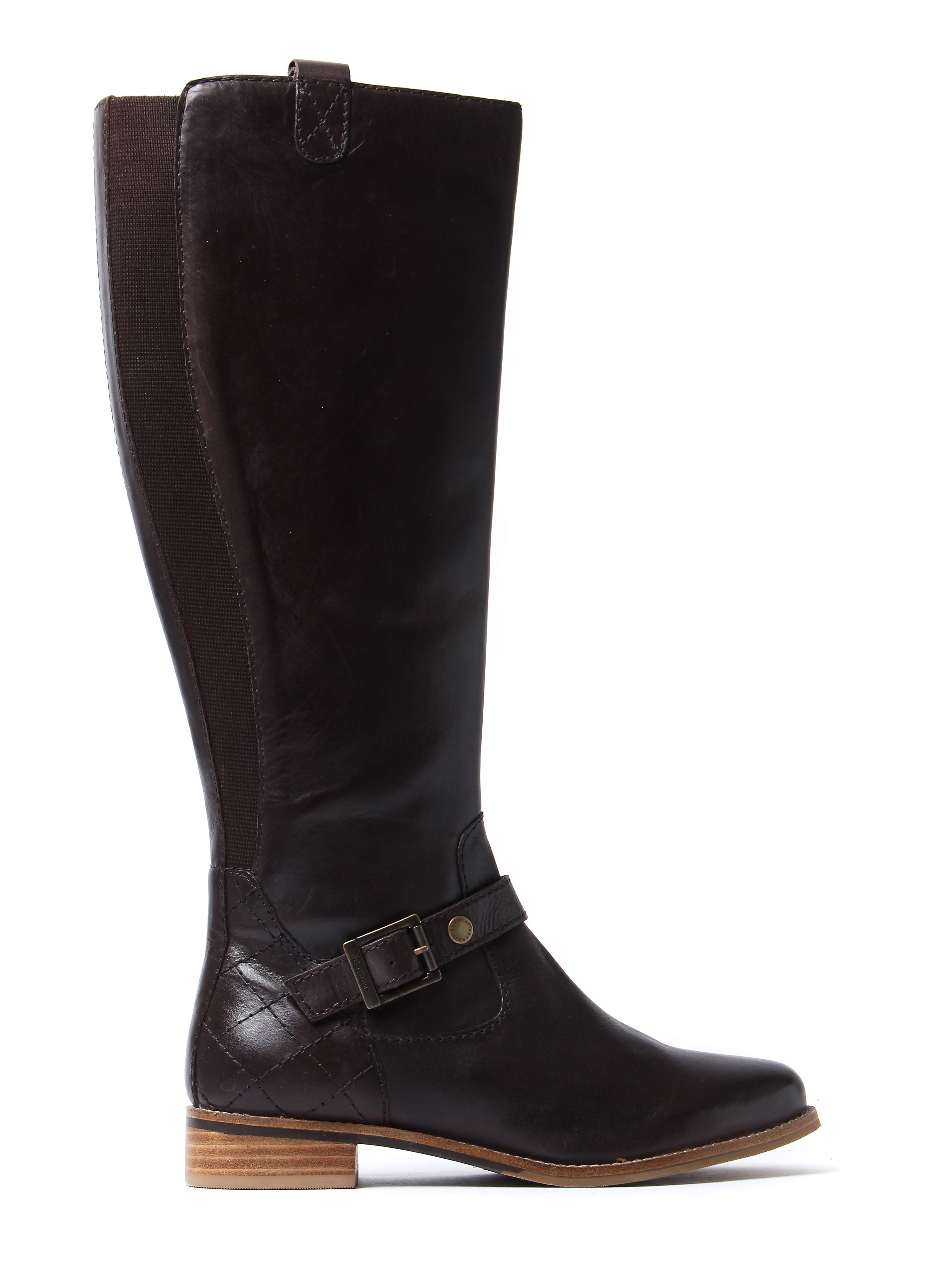 Barbour Women's Georgia Tall Boots - Brown Leather